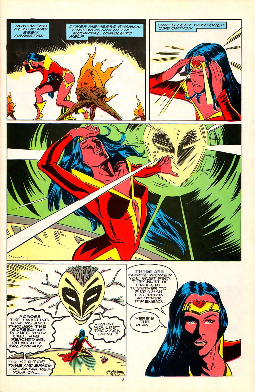 Read online Alpha Flight (1983) comic -  Issue #81 - 4