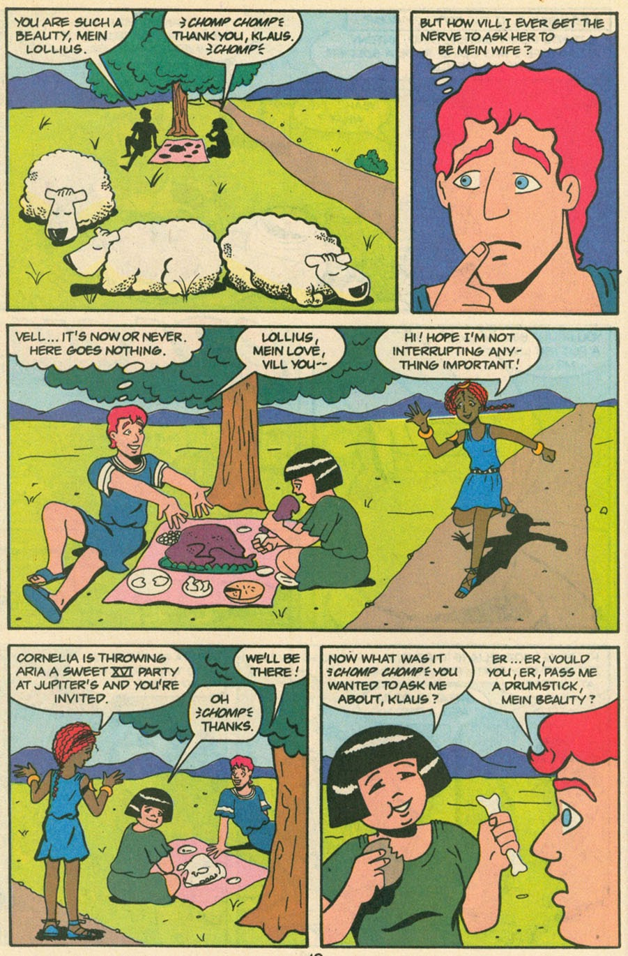 Read online Sweet XVI (Sixteen): Back To School Special comic -  Issue # Full - 32