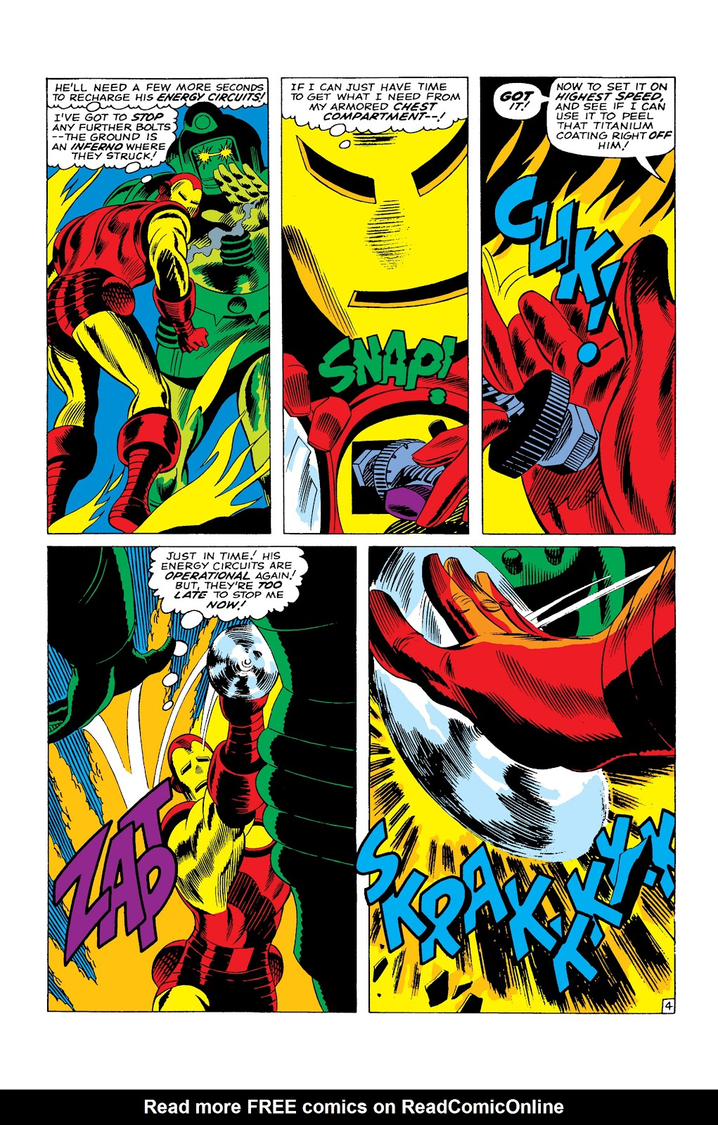 Read online Marvel Masterworks: The Invincible Iron Man comic -  Issue # TPB 3 (Part 4) - 98