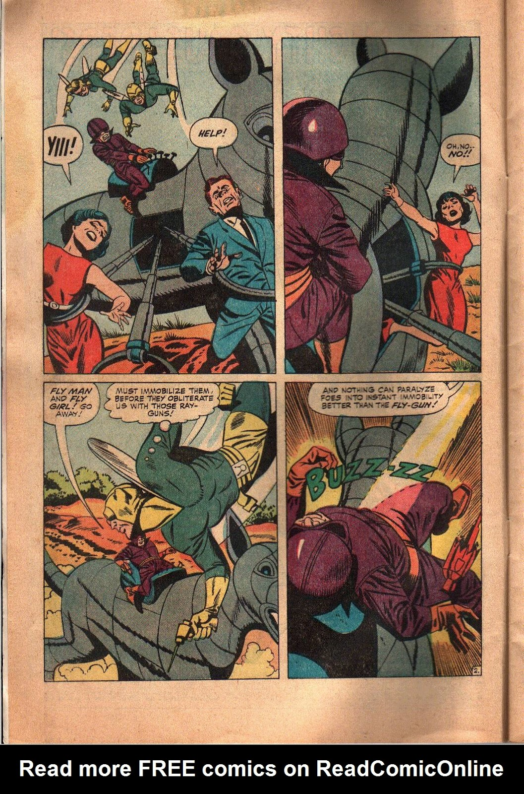 The Mighty Crusaders (1965) Issue #6 #6 - English 3