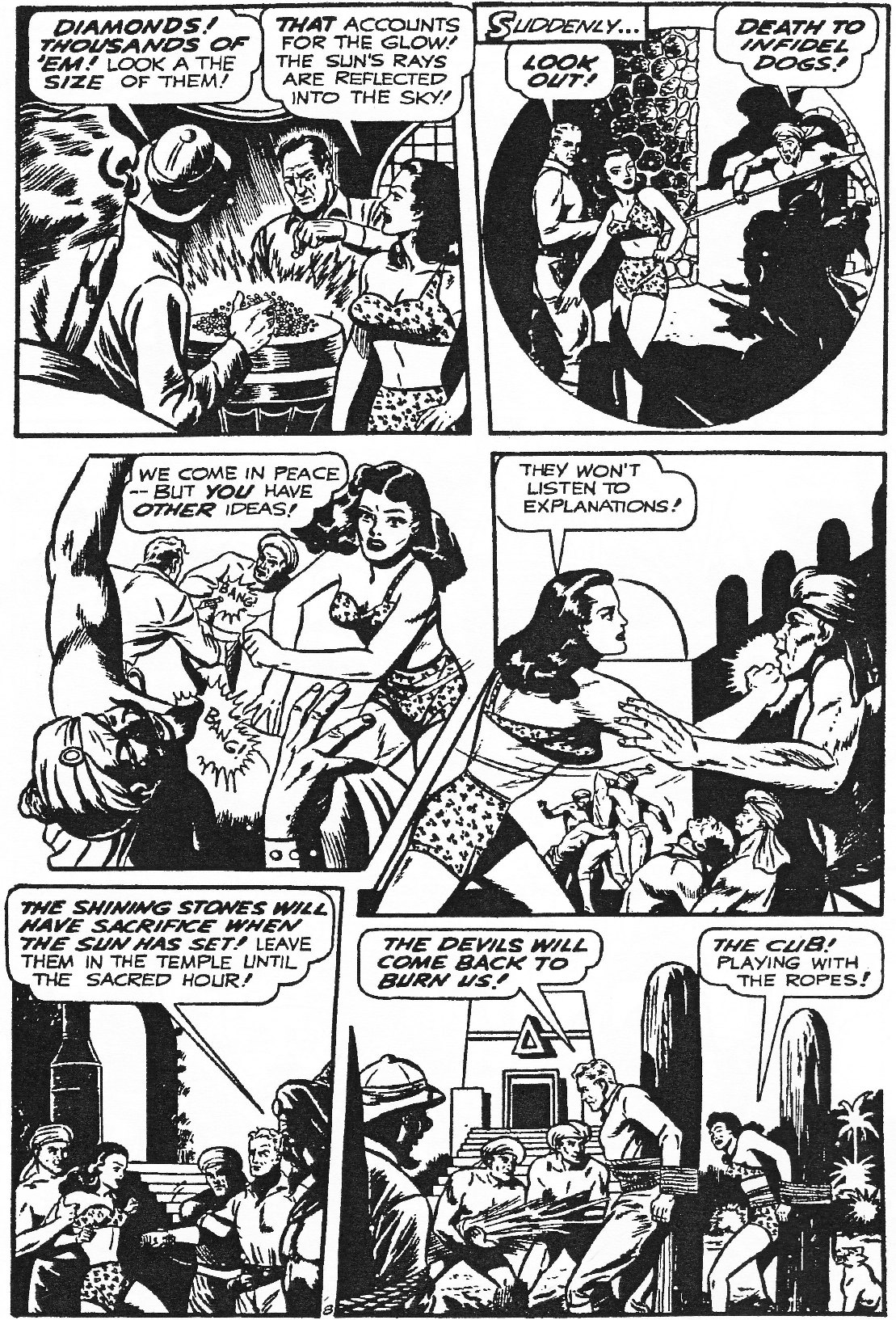 Read online Men of Mystery Comics comic -  Issue #84 - 112