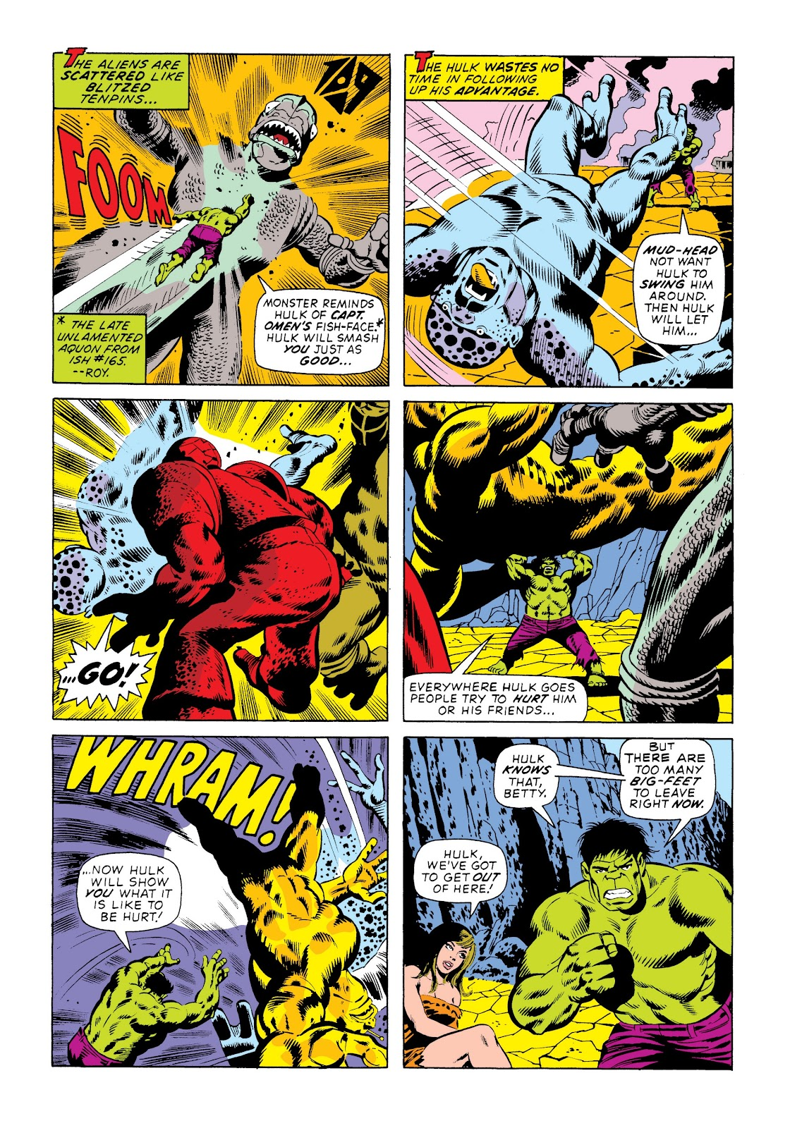 Read online Marvel Masterworks: The Incredible Hulk comic -  Issue # TPB 9 (Part 3) - 94