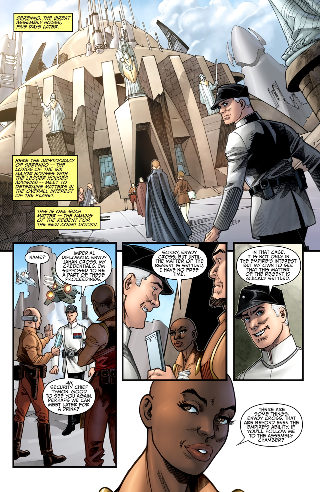 Read online Star Wars: Agent Of The Empire - Hard Targets comic -  Issue #2 - 3