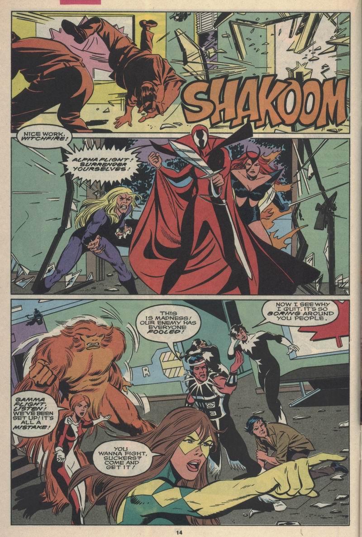 Read online Alpha Flight (1983) comic -  Issue #84 - 12