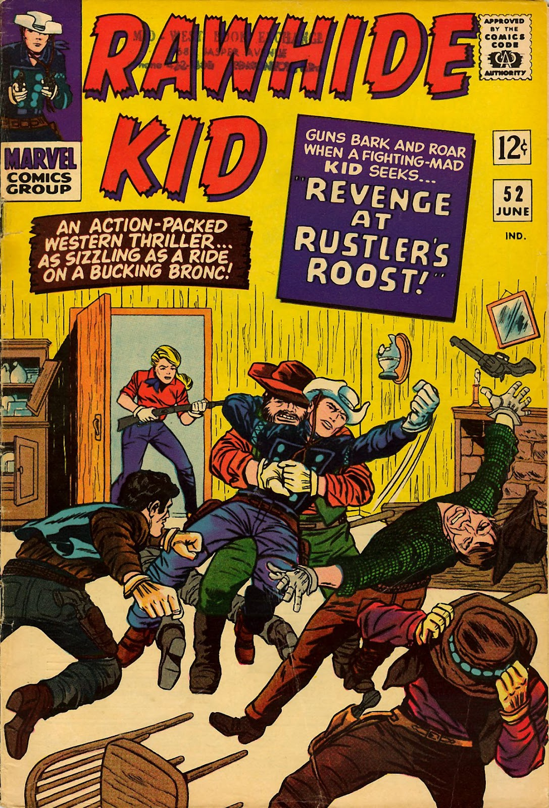 The Rawhide Kid (1955) issue 52 - Page 1