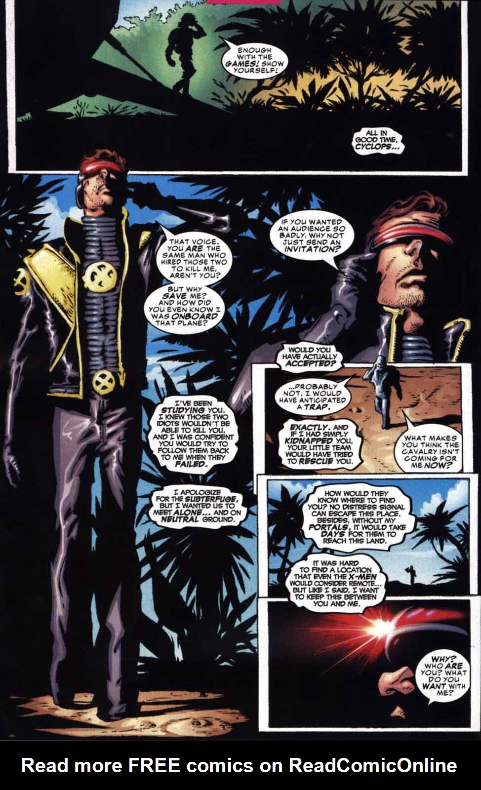 Read online Cyclops (2001) comic -  Issue #2 - 9