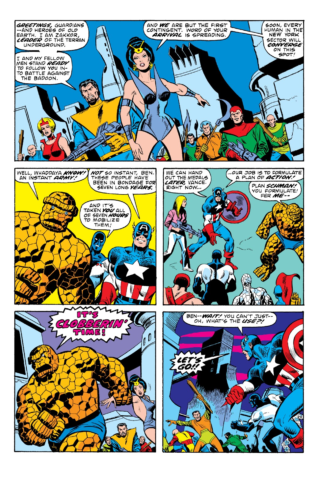 Read online Marvel Two-In-One Epic Collection: Cry Monster comic -  Issue # TPB (Part 2) - 38