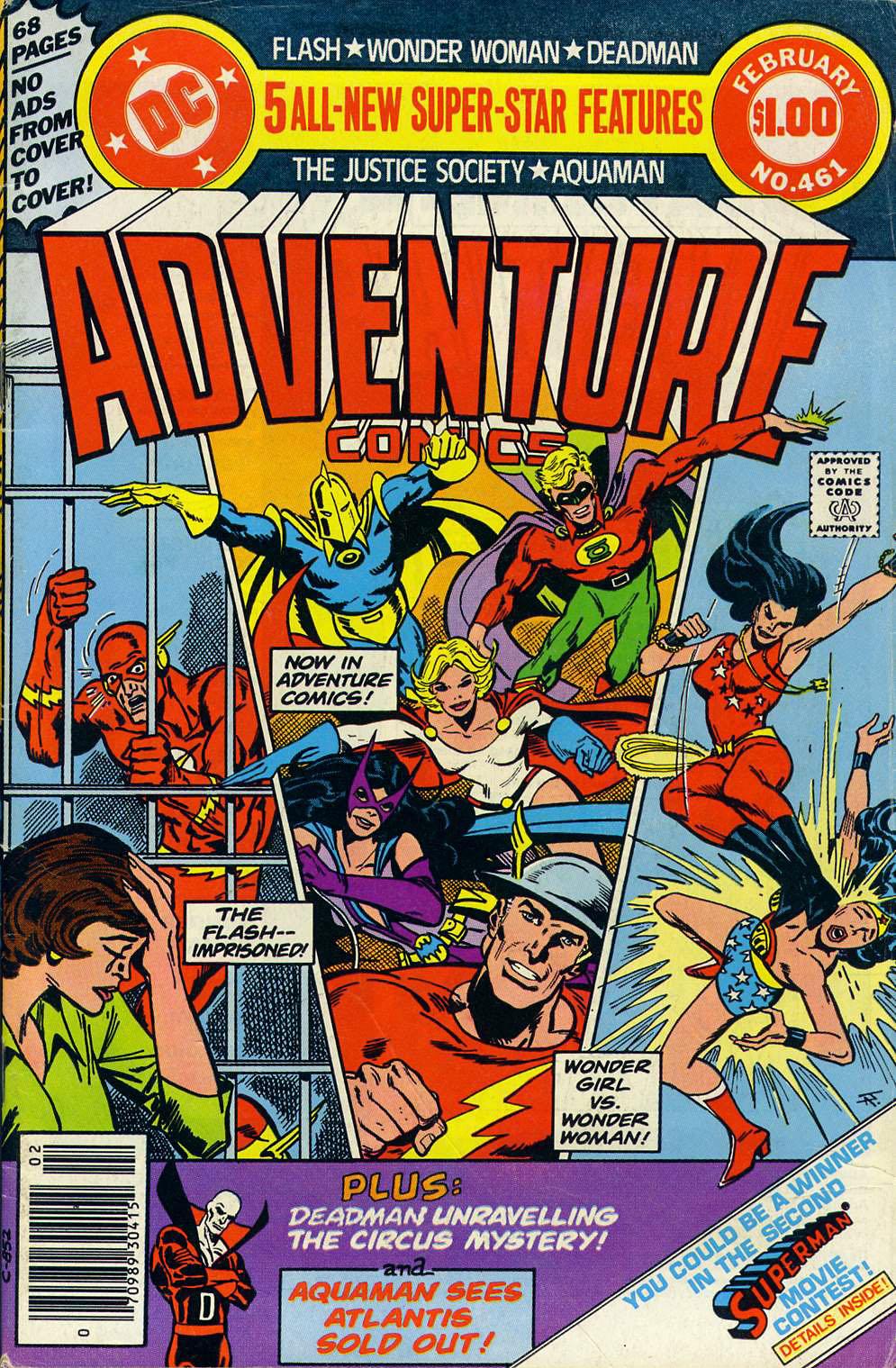 Read online Adventure Comics (1938) comic -  Issue #461 - 1
