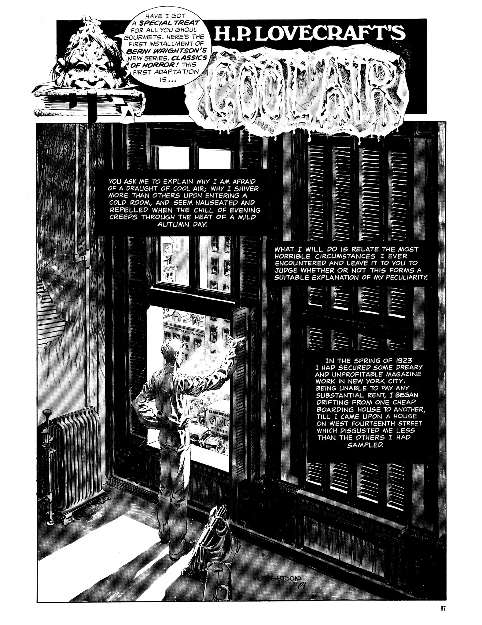 Read online Eerie Archives comic -  Issue # TPB 13 - 88