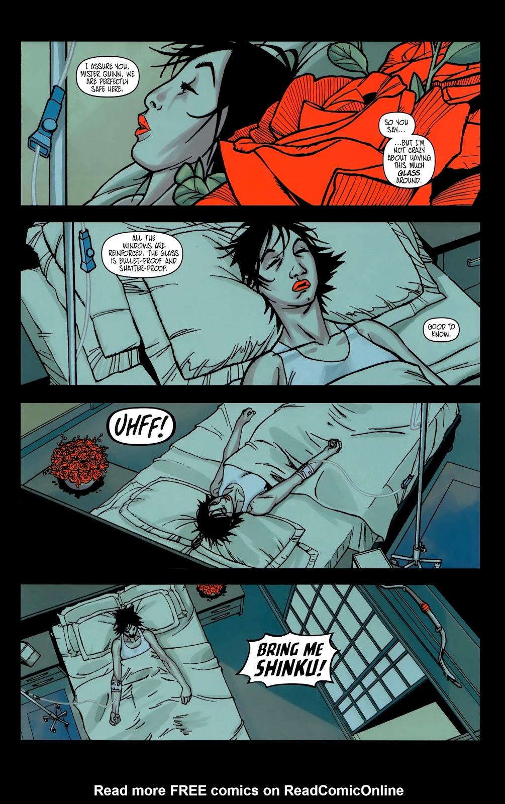 Read online Shinku comic -  Issue #5 - 3