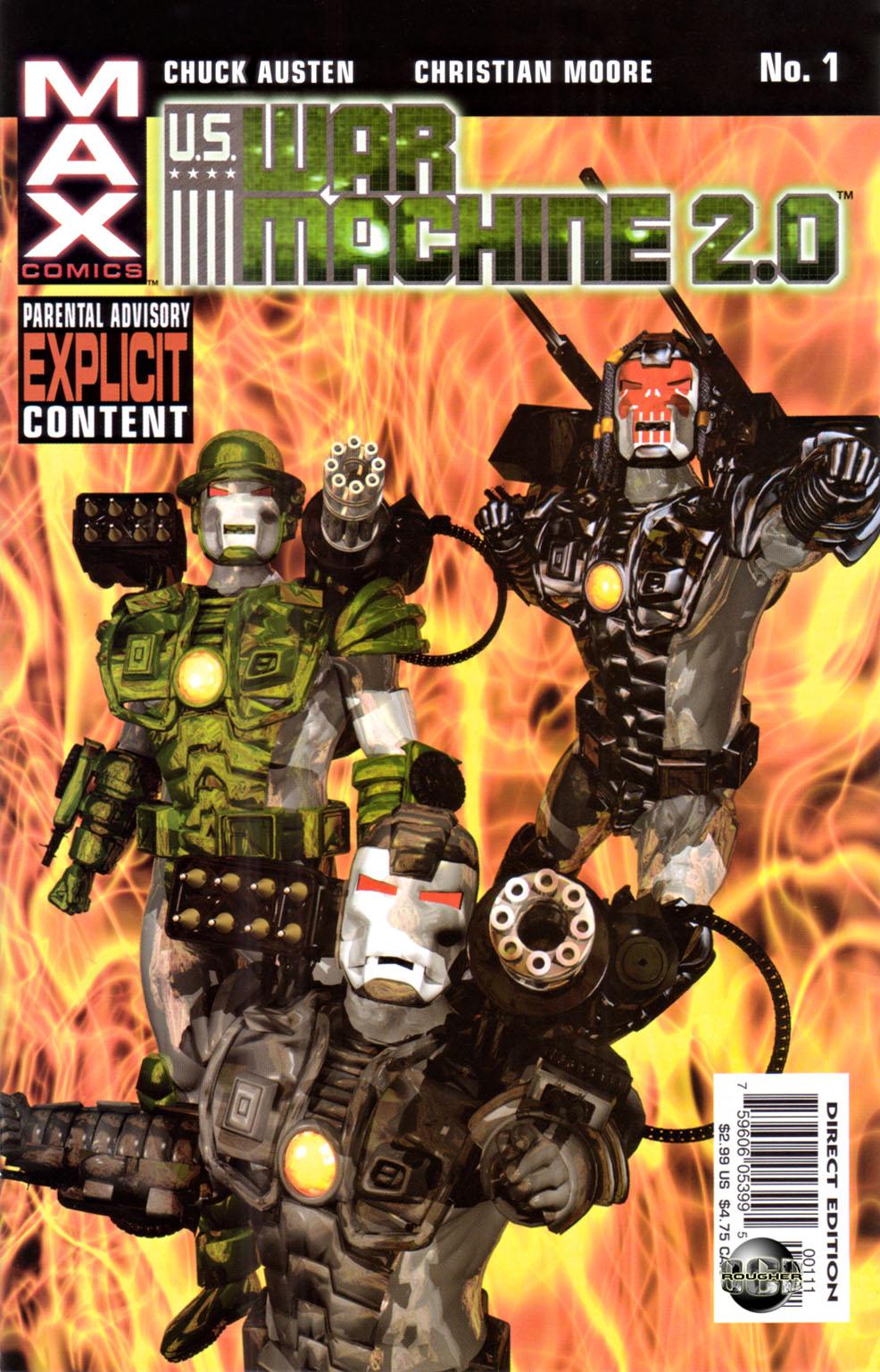 Read online U.S. War Machine 2.0 comic -  Issue #1 - 1