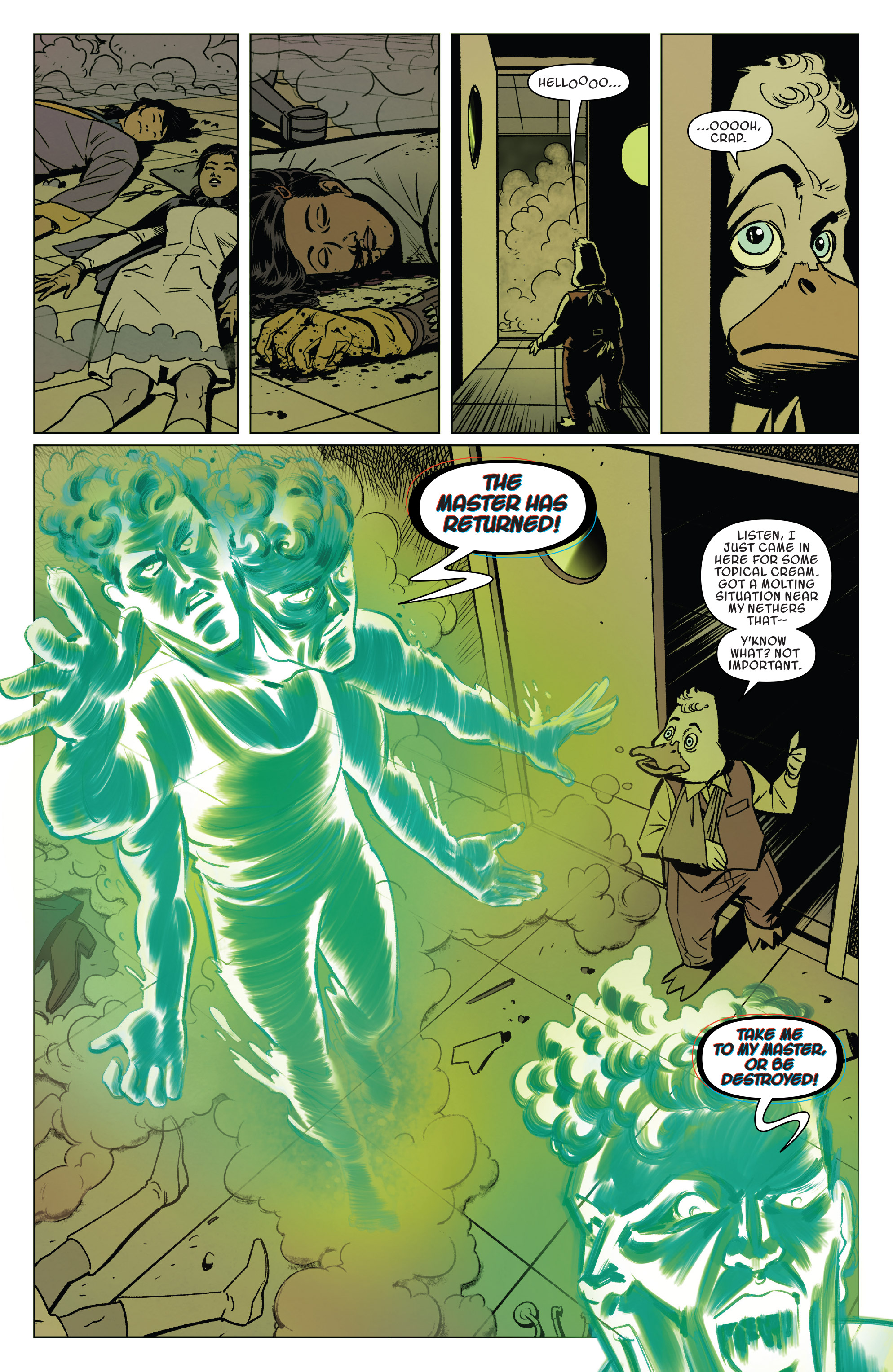 Read online Doctor Strange and the Sorcerers Supreme comic -  Issue #8 - 3