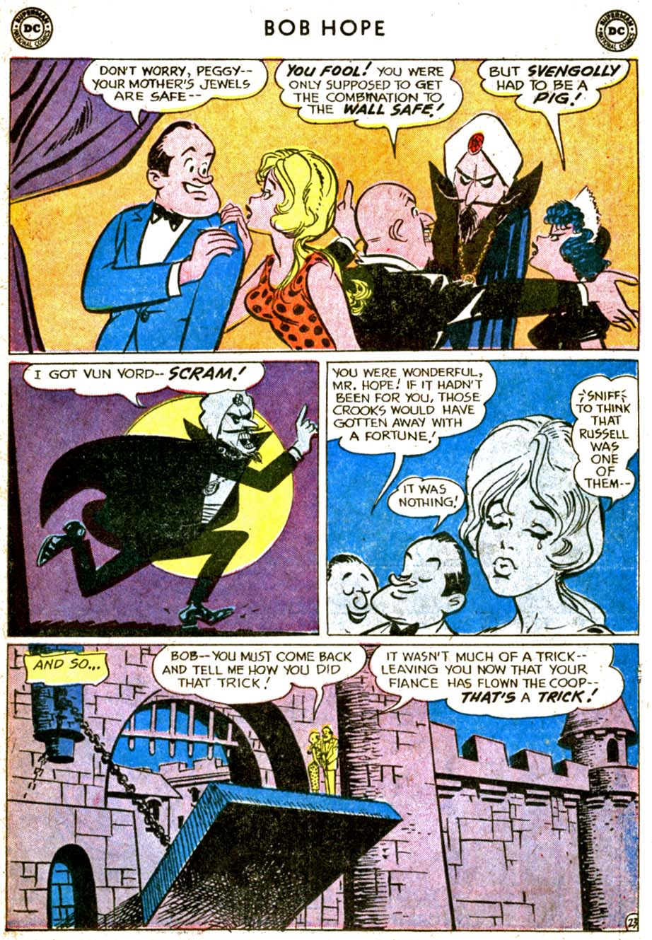 The Adventures of Bob Hope issue 77 - Page 31