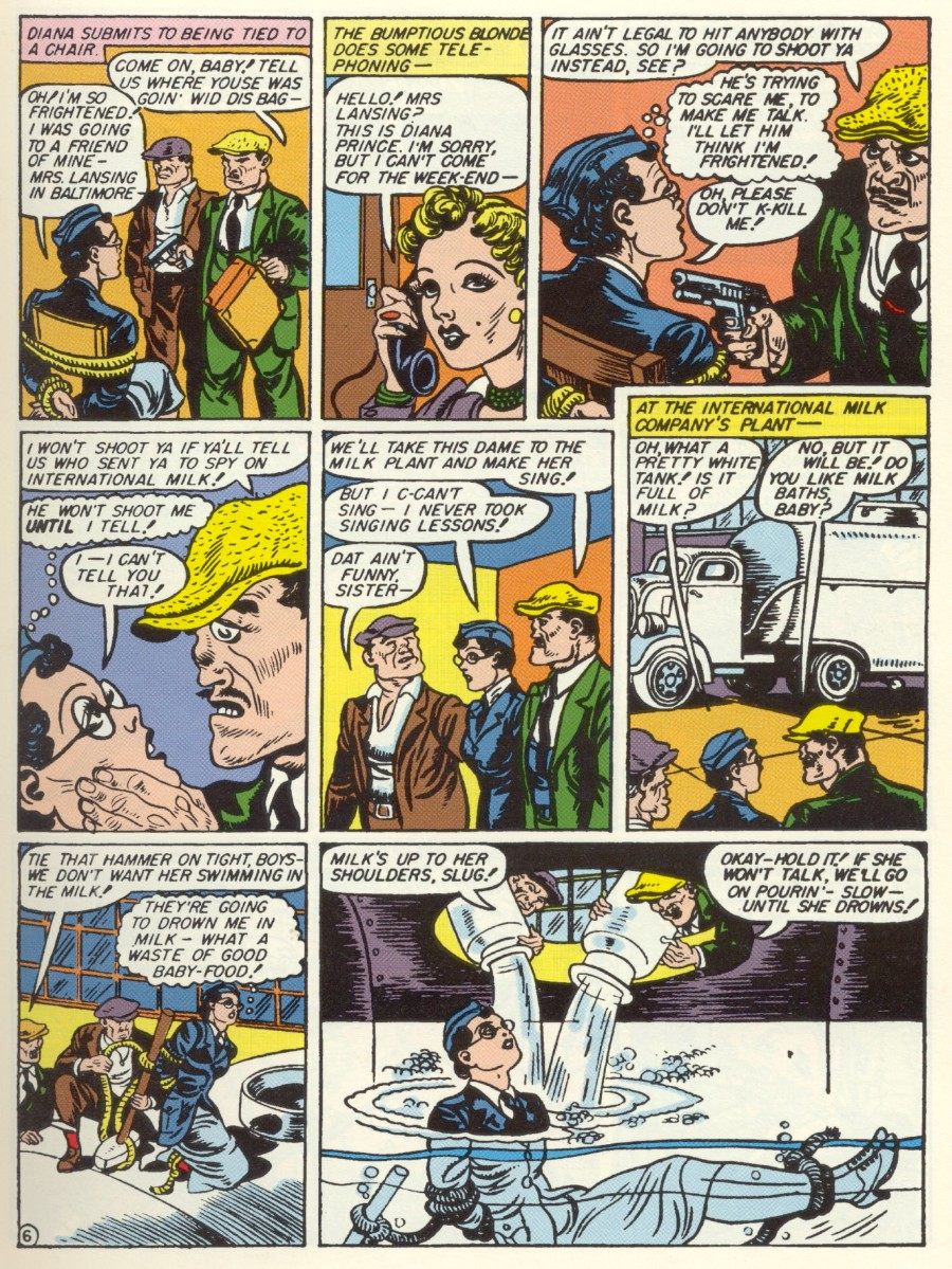Read online Sensation (Mystery) Comics comic -  Issue #7 - 8