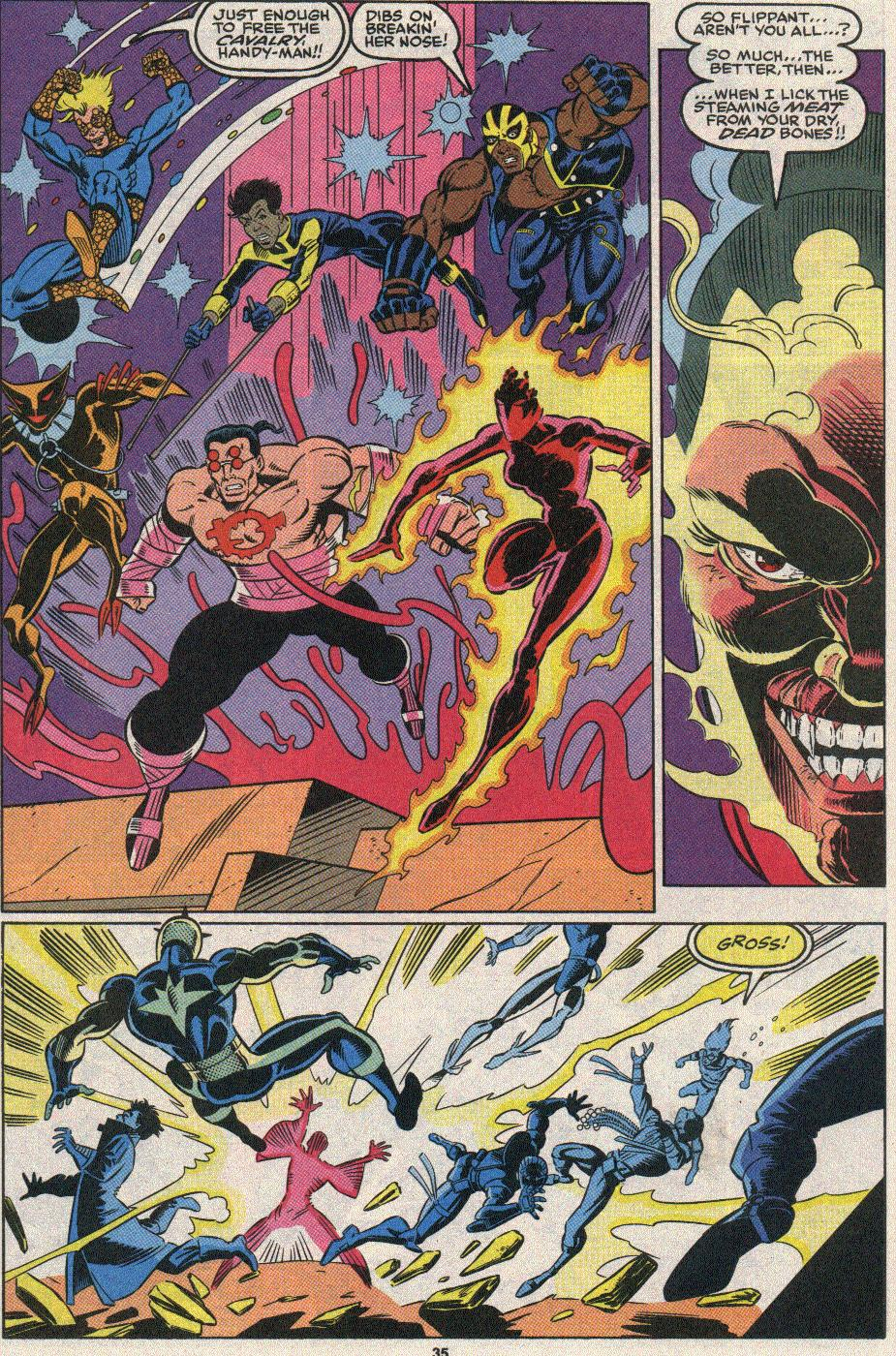 The New Warriors Issue #25 #29 - English 31