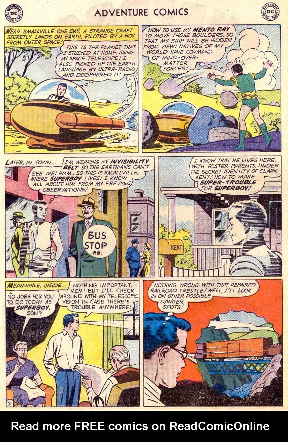 Read online Adventure Comics (1938) comic -  Issue #264 - 4