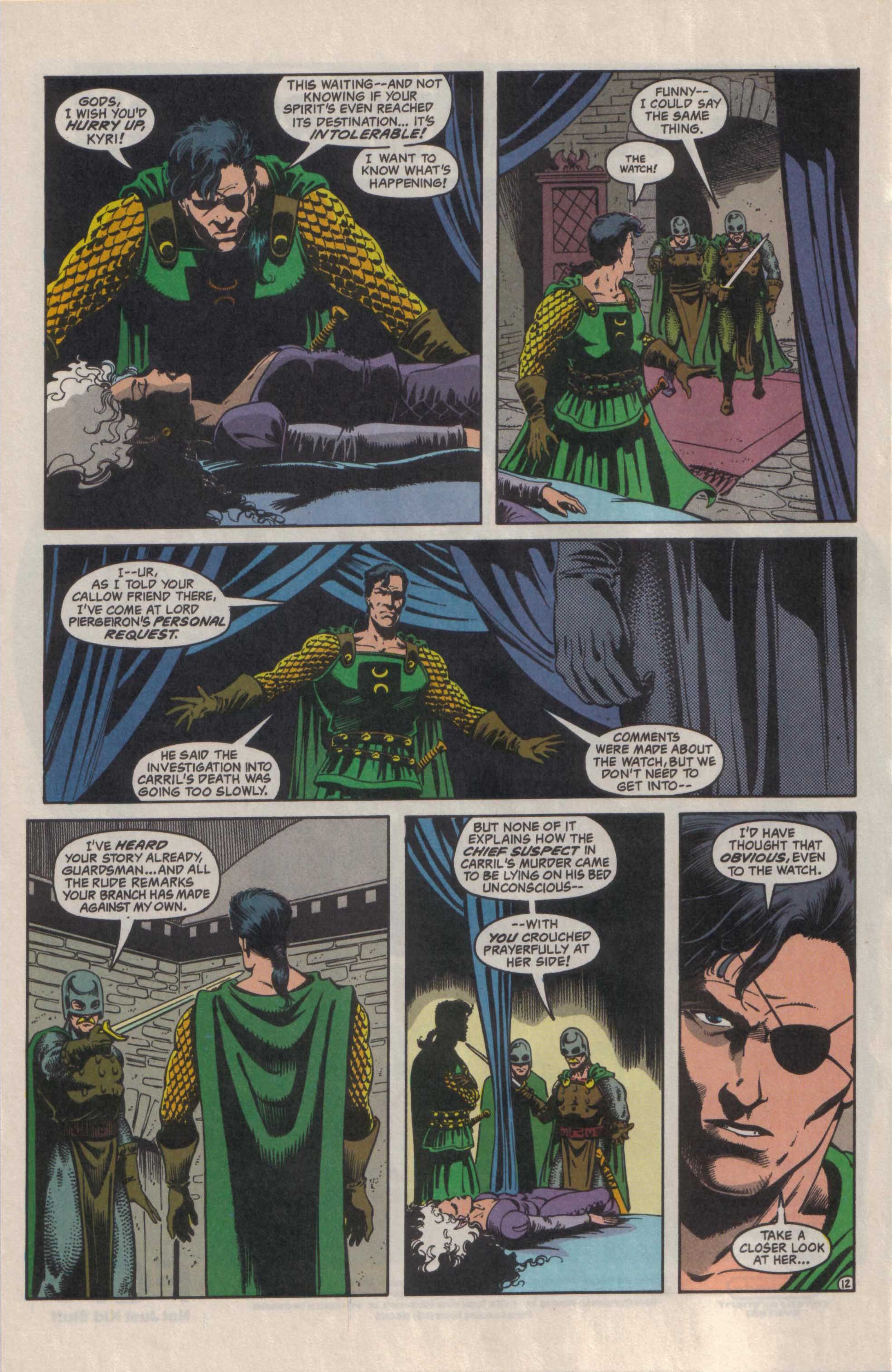 Read online Advanced Dungeons & Dragons comic -  Issue #29 - 13
