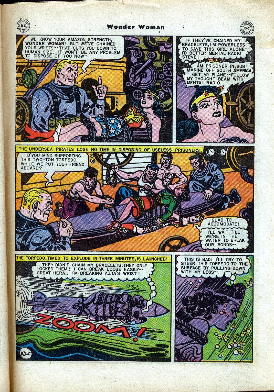 Read online Wonder Woman (1942) comic -  Issue #24 - 47