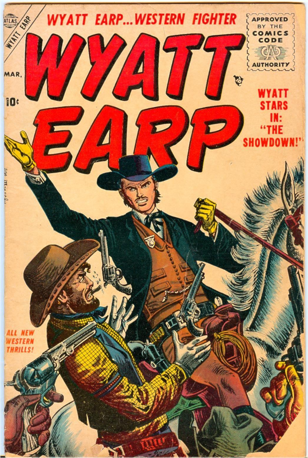 Wyatt Earp issue 3 - Page 1