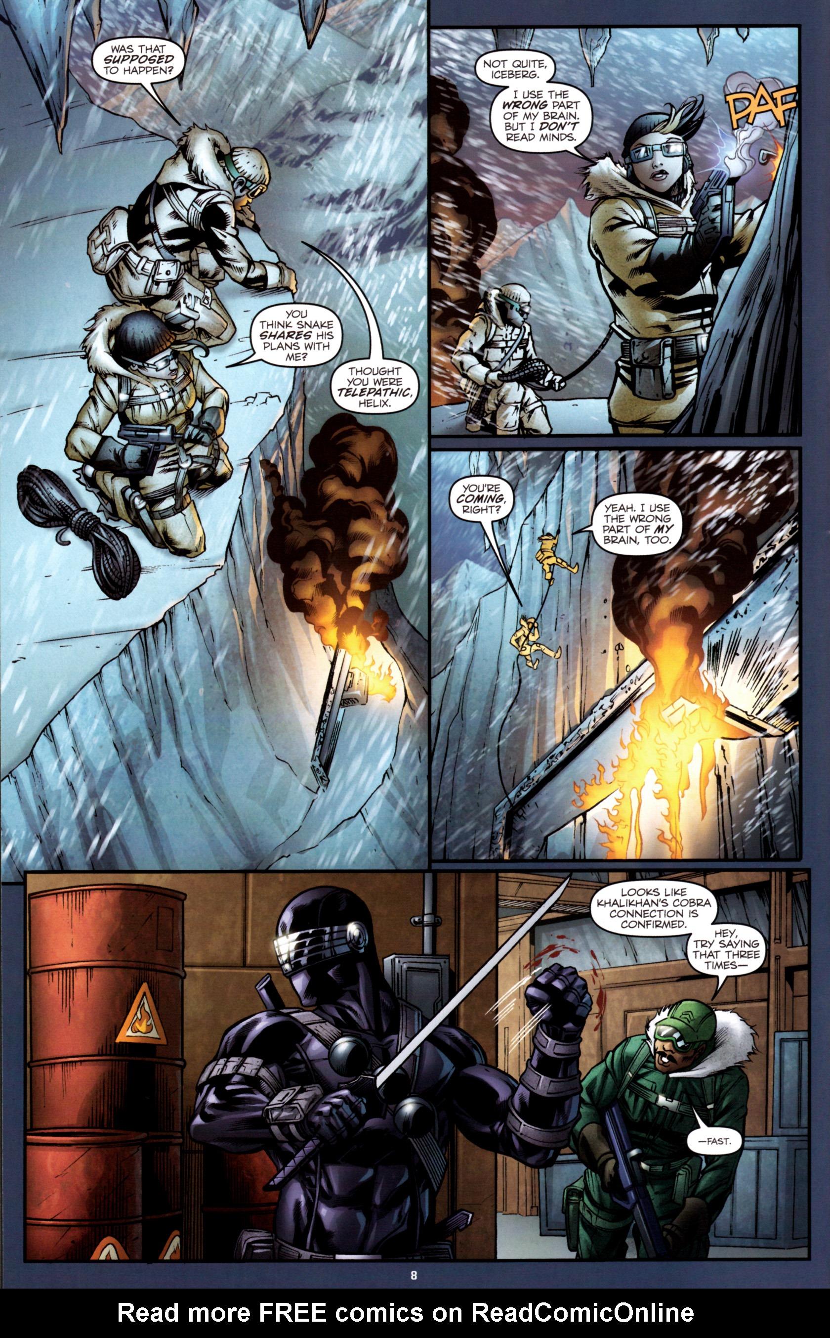 Read online G.I. Joe: Snake Eyes comic -  Issue #2 - 11