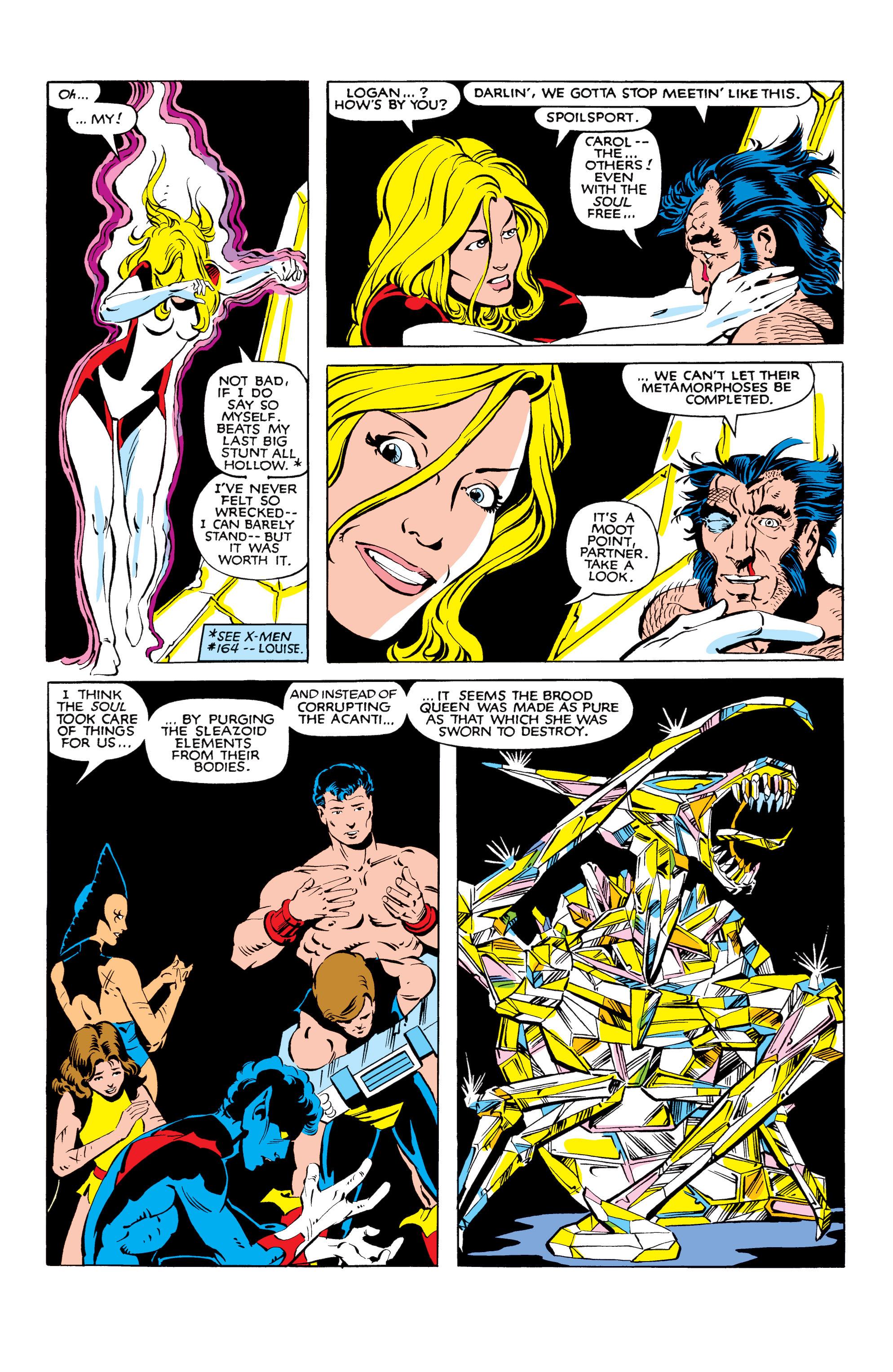 Read online Uncanny X-Men (1963) comic -  Issue #166 - 36