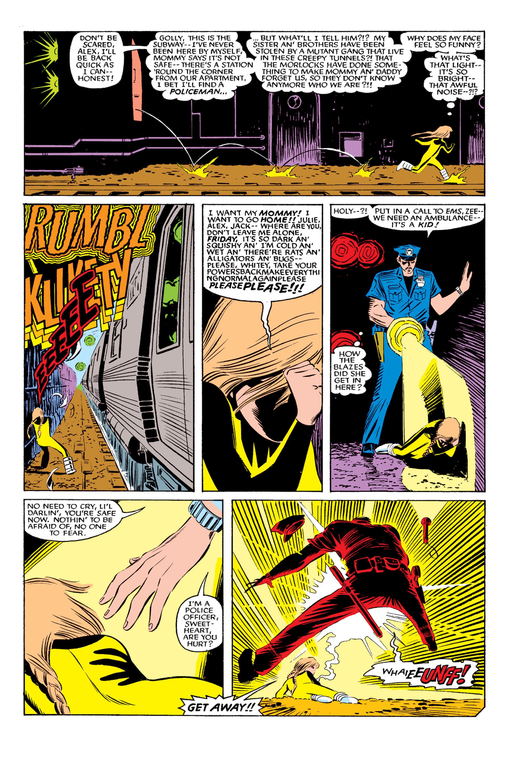Read online Uncanny X-Men (1963) comic -  Issue #195 - 10
