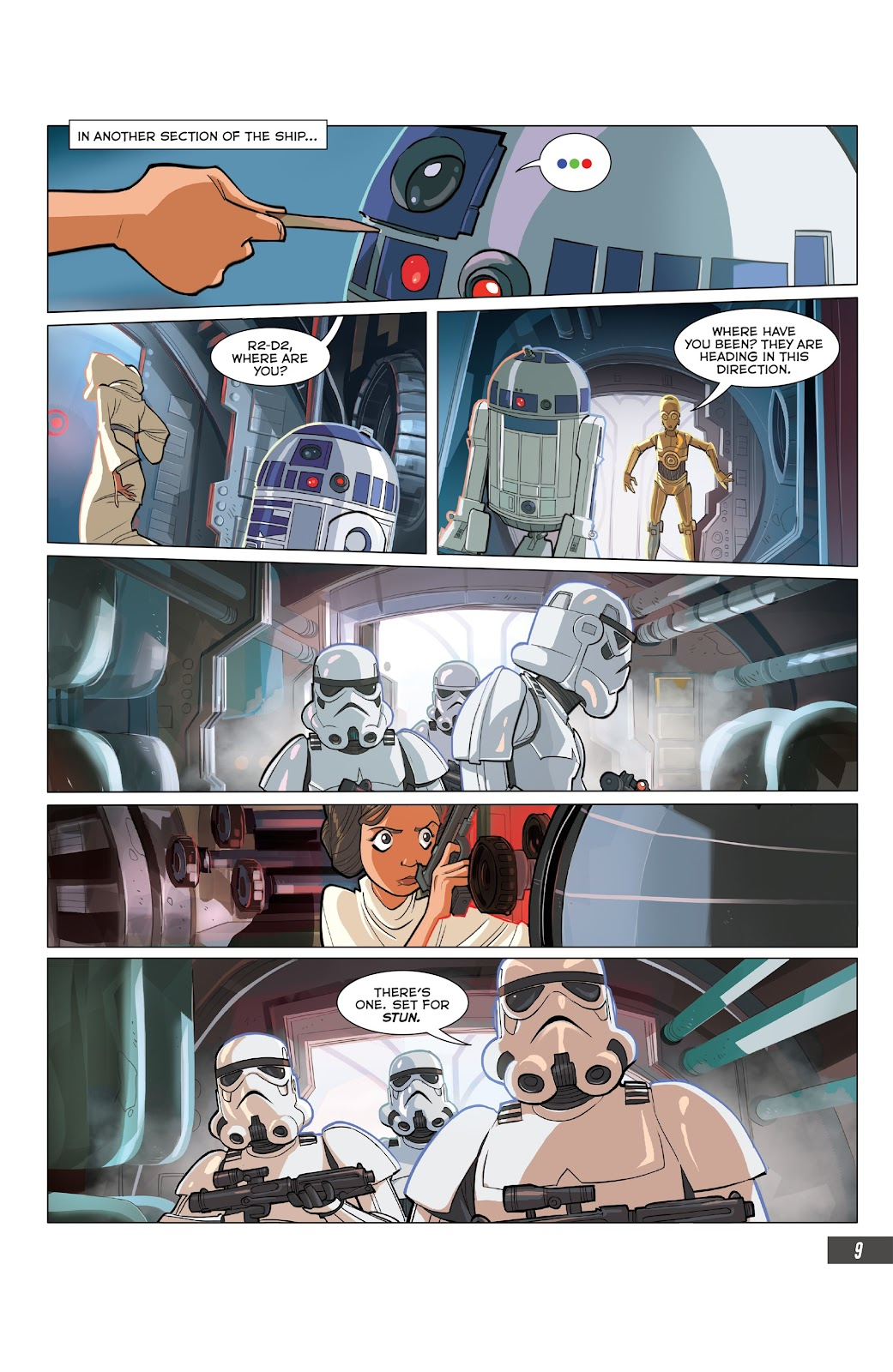 Read online Star Wars Adventures: Flight of the Falcon comic -  Issue # Full - 33