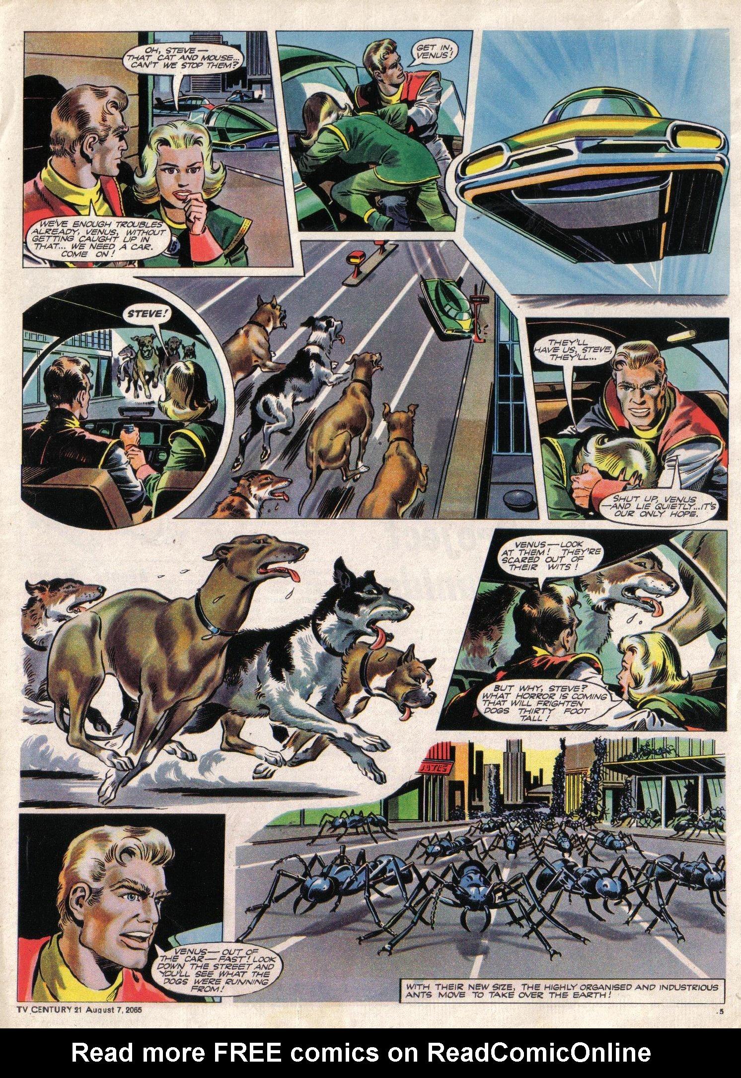 Read online TV Century 21 (TV 21) comic -  Issue #29 - 6