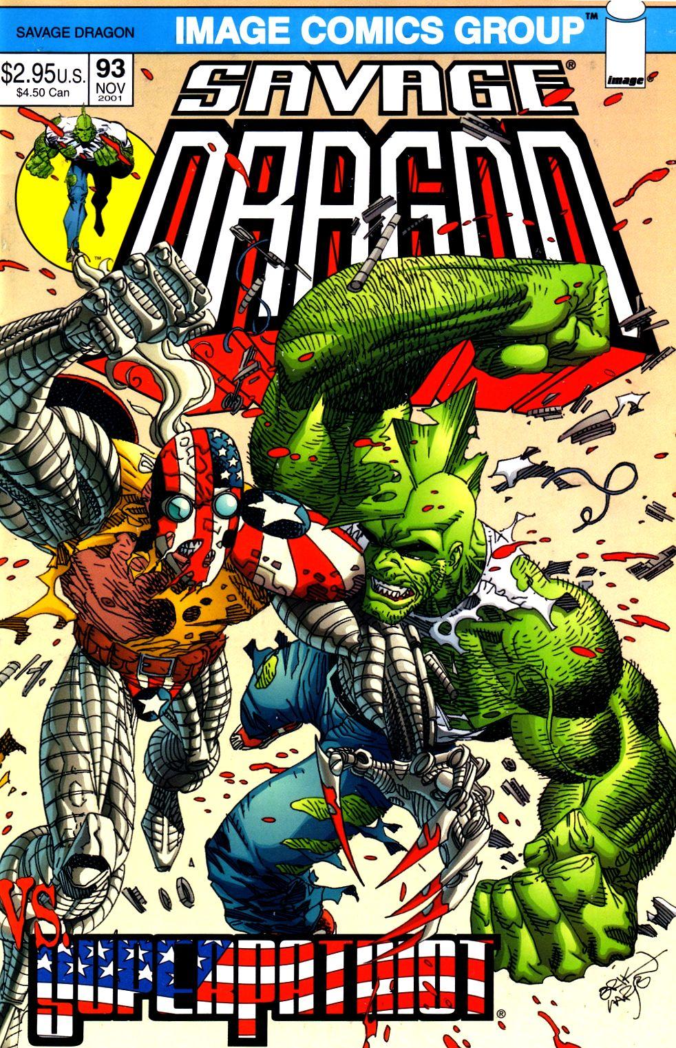 The Savage Dragon (1993) Issue #93 #96 - English 1
