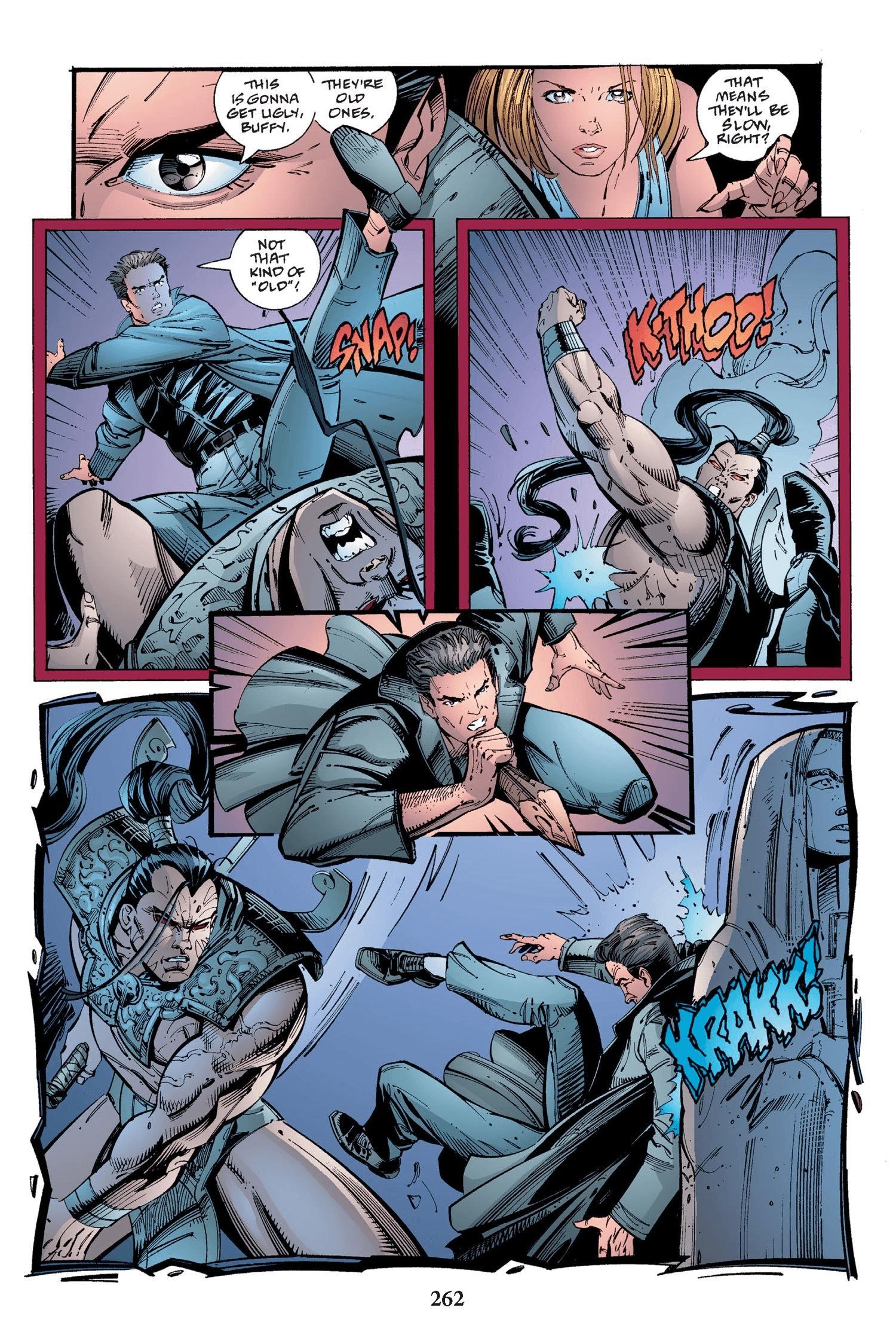 Read online Buffy the Vampire Slayer: Omnibus comic -  Issue # TPB 2 - 254