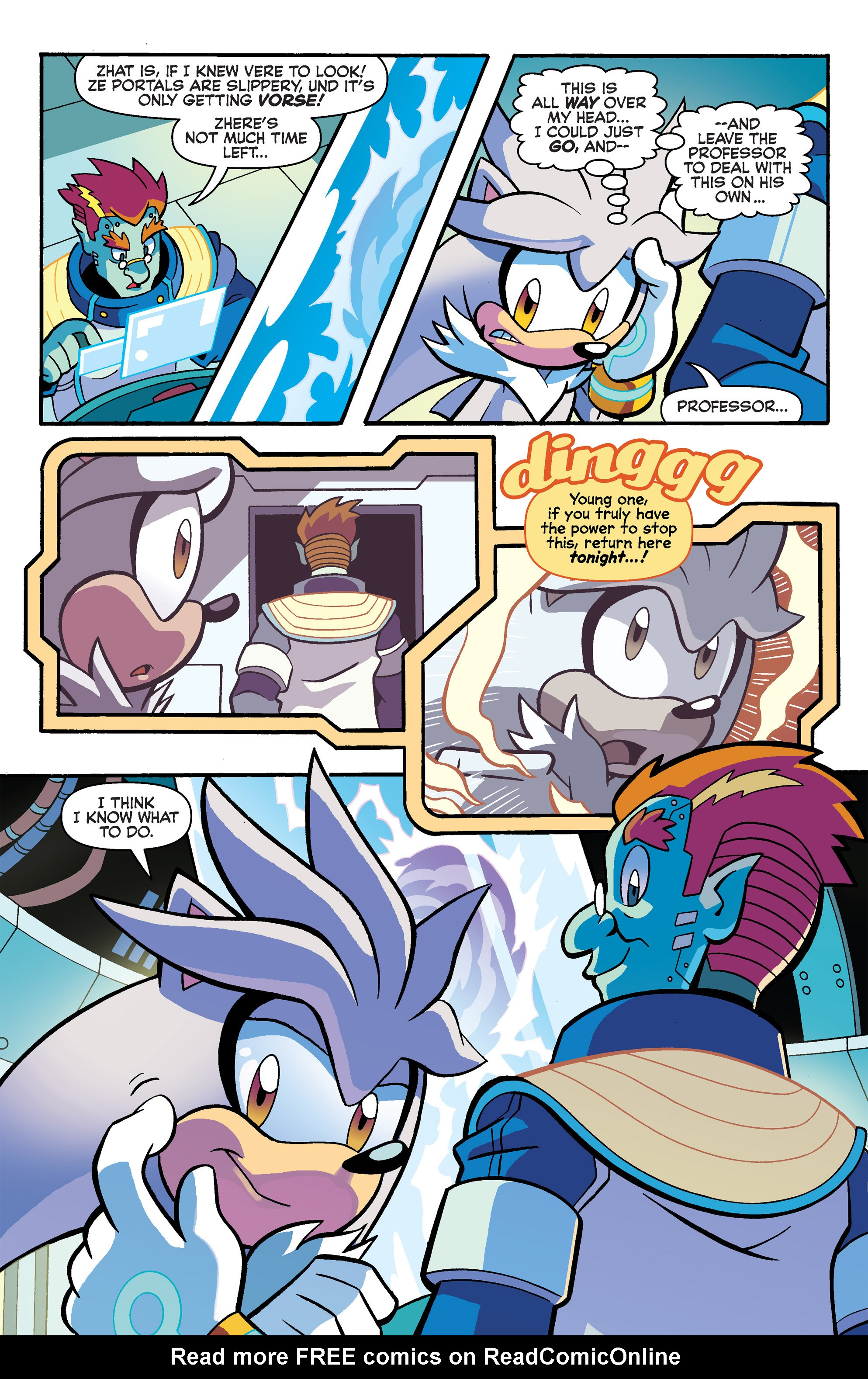 Read online Sonic Universe comic -  Issue #80 - 11
