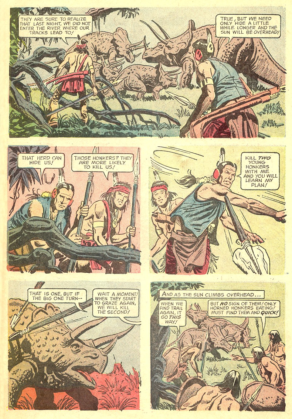 Read online Turok, Son of Stone comic -  Issue #68 - 31