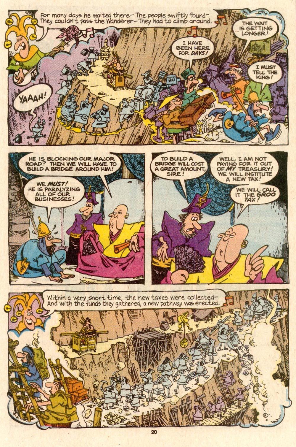 Read online Sergio Aragonés Groo the Wanderer comic -  Issue #56 - 20