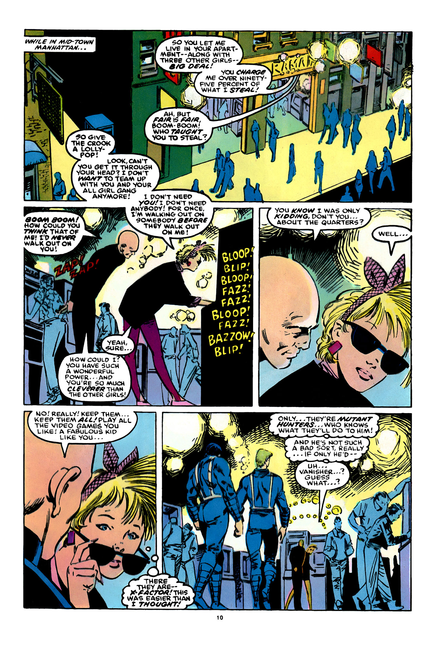 Read online X-Factor (1986) comic -  Issue #12 - 11