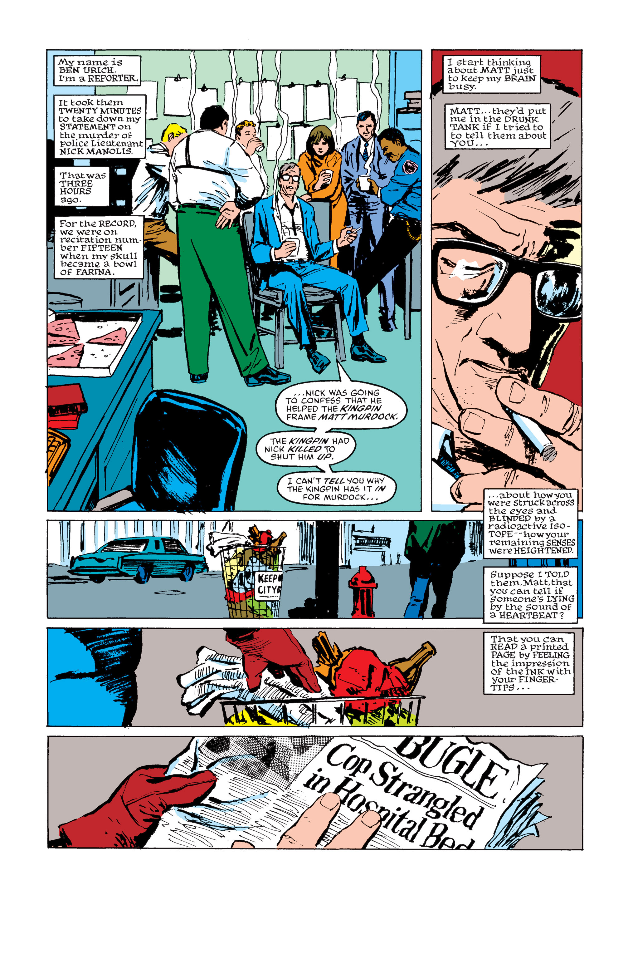 Read online Daredevil: Born Again comic -  Issue # Full - 126