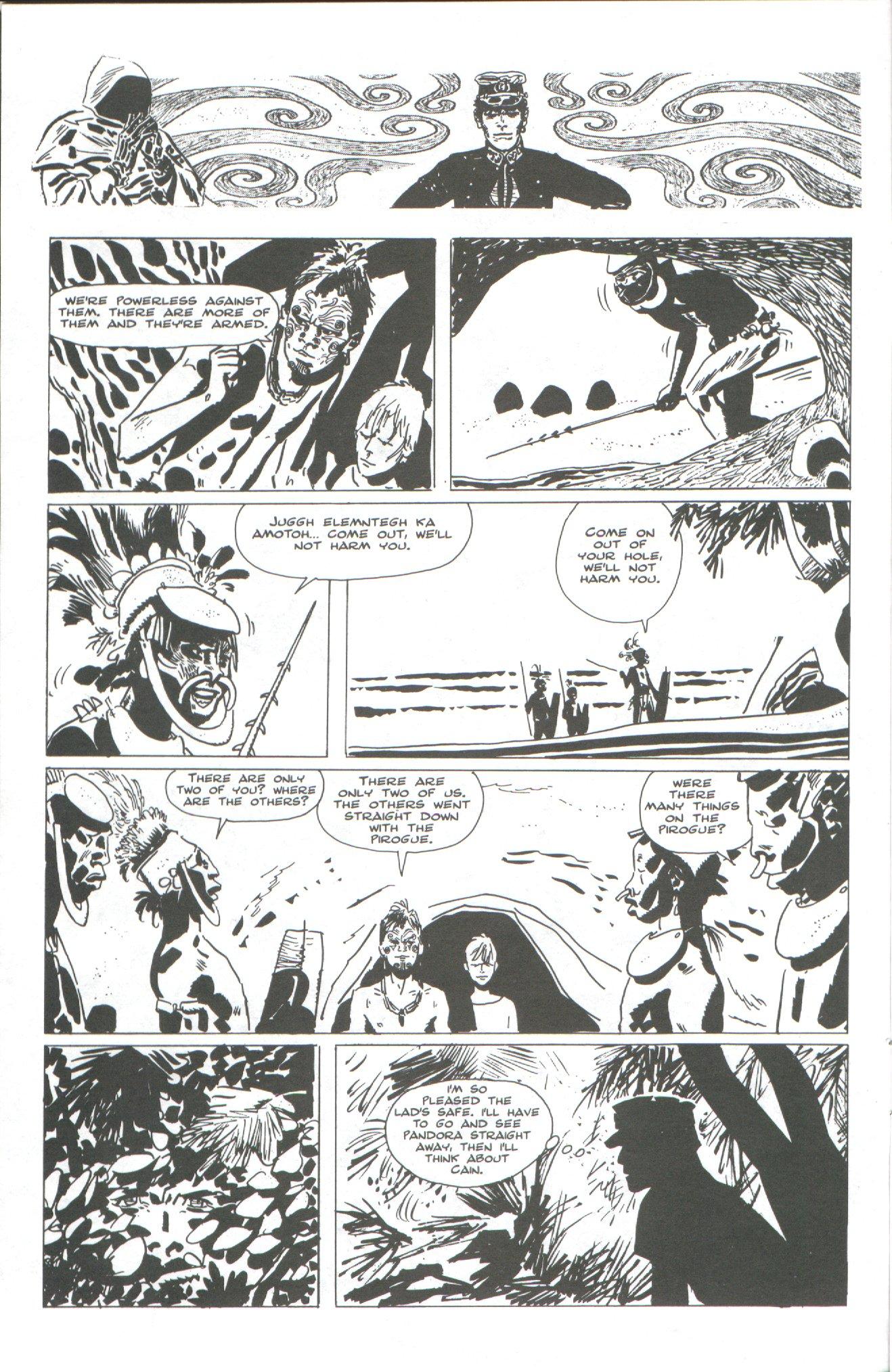 Read online Corto Maltese: Ballad of the Salt Sea comic -  Issue #2 - 8