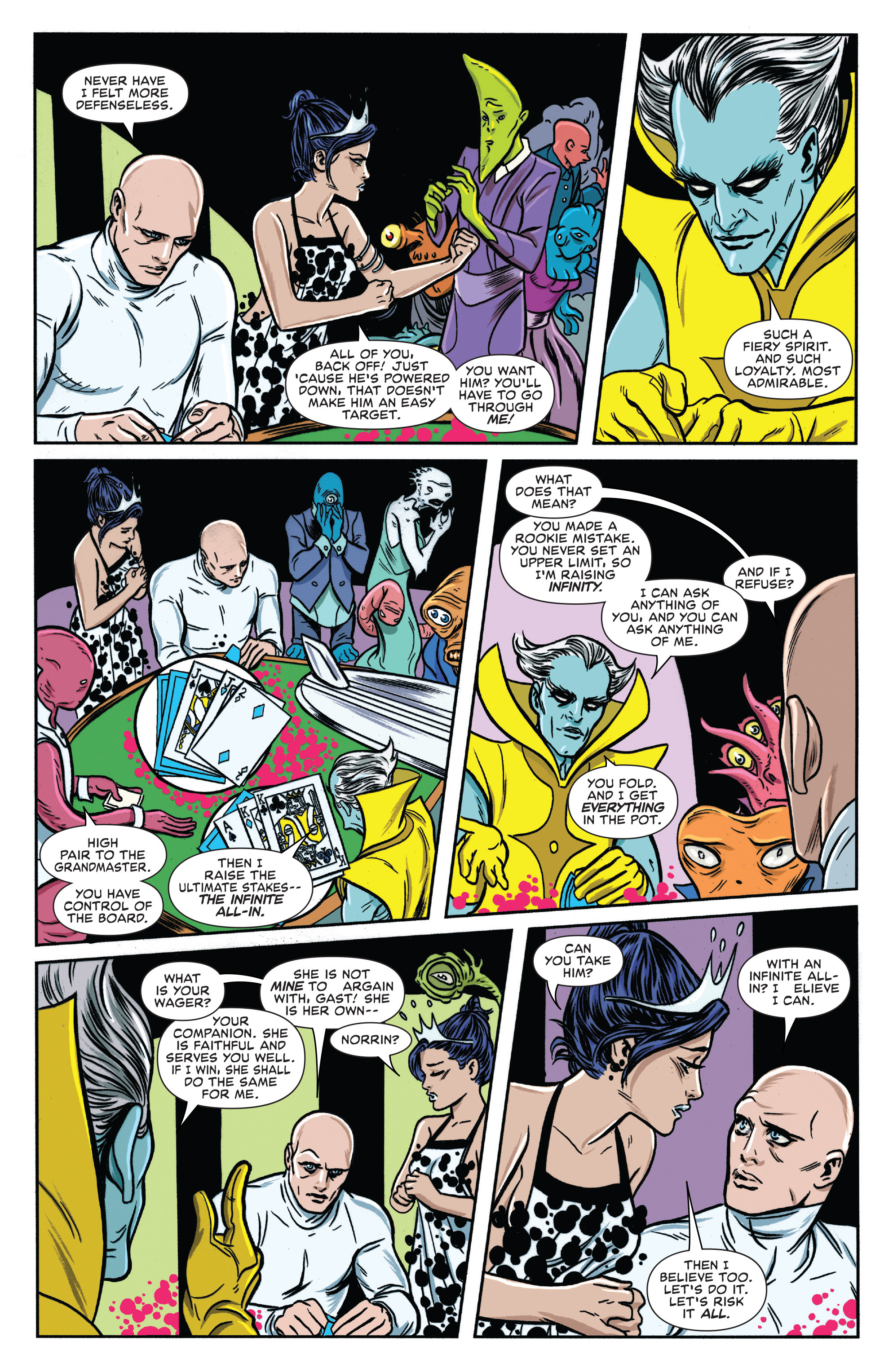 Read online Silver Surfer (2016) comic -  Issue #7 - 17