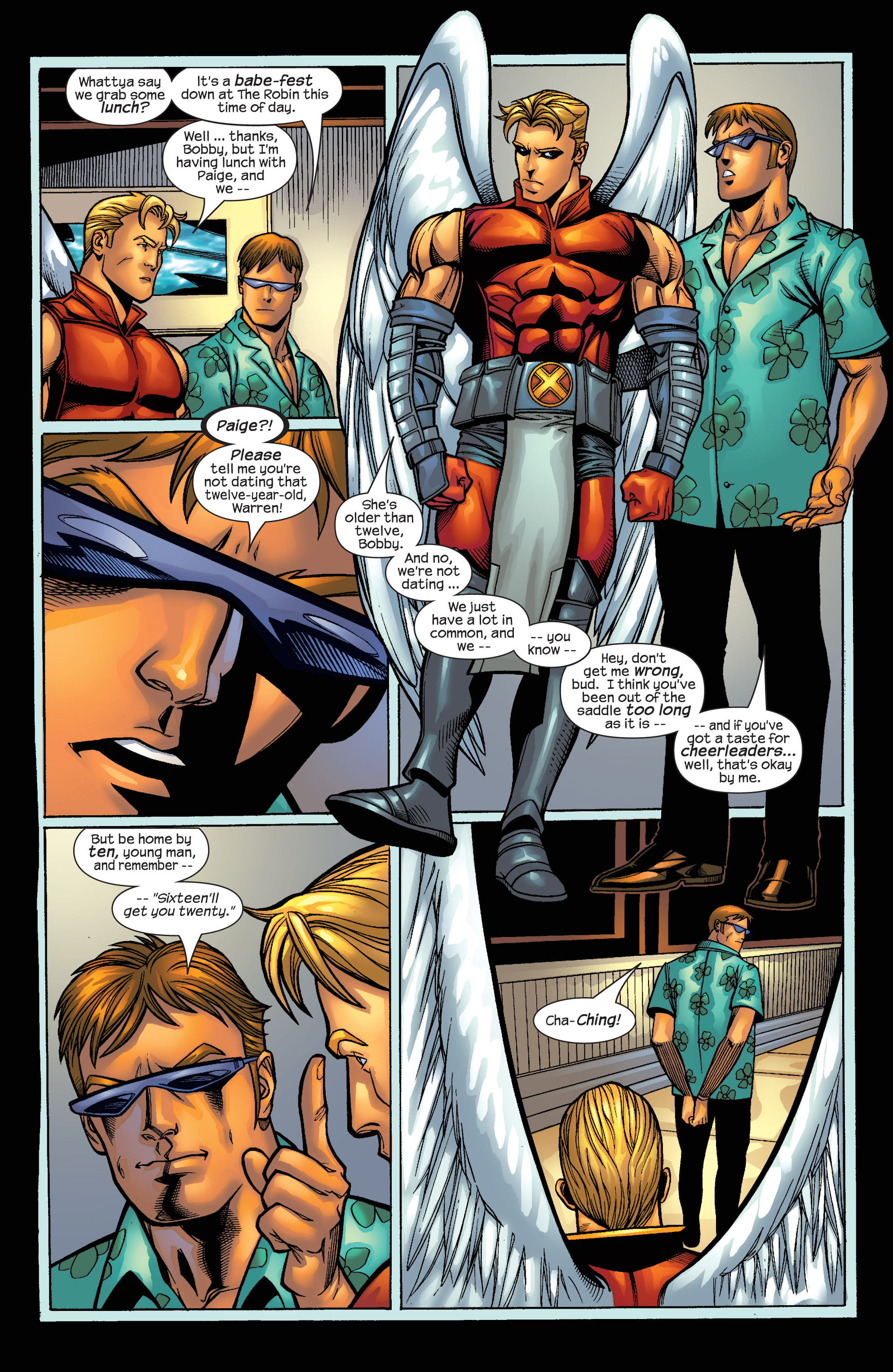 Read online Uncanny X-Men (1963) comic -  Issue #421 - 12