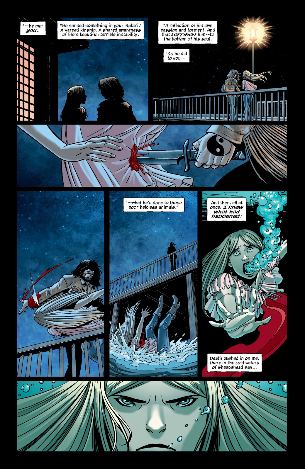 Read online The Girl In The Bay comic -  Issue #4 - 16