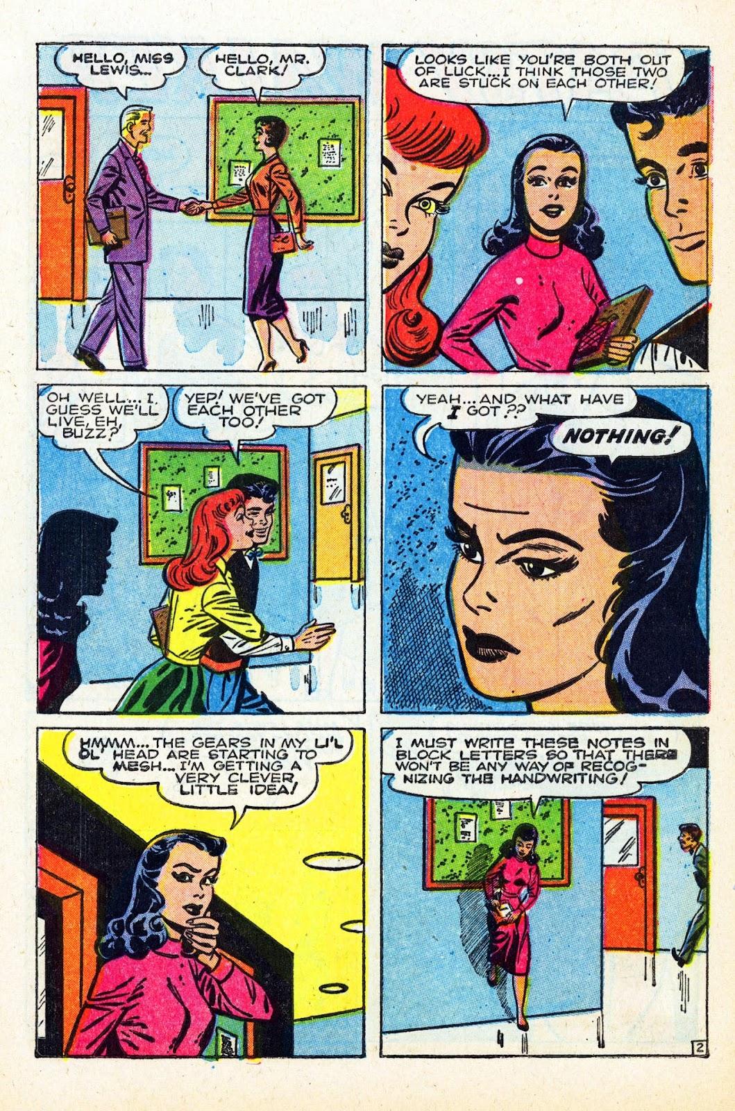 Read online Patsy Walker comic -  Issue #58 - 4