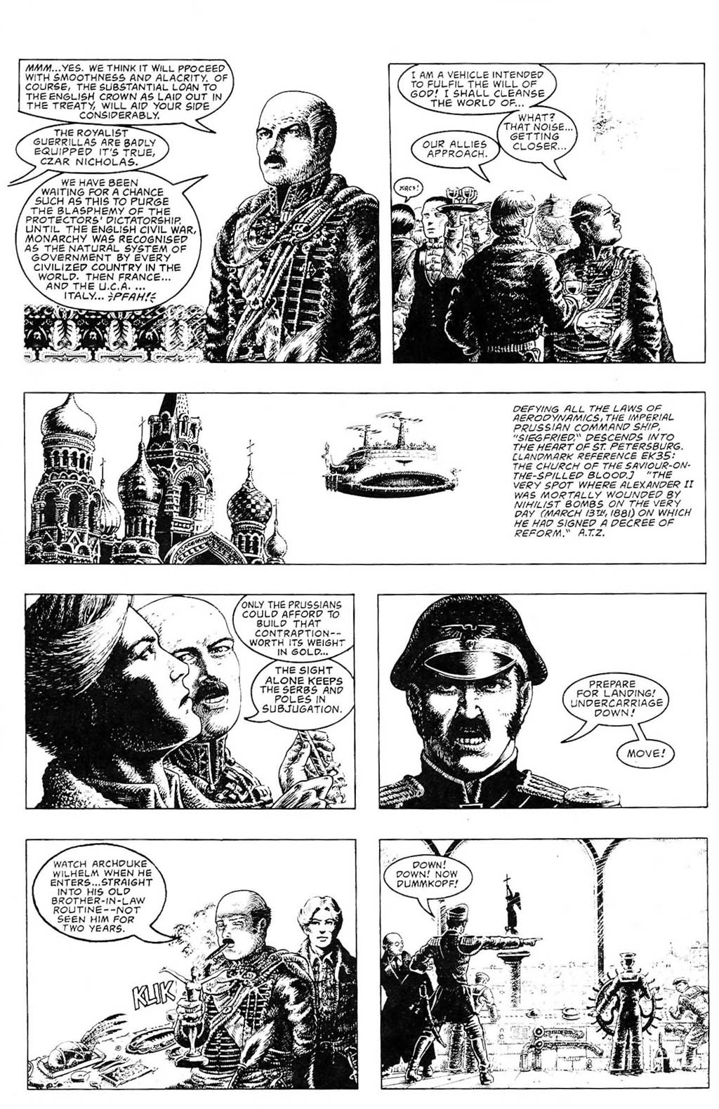 Read online The Adventures of Luther Arkwright comic -  Issue #2 - 6