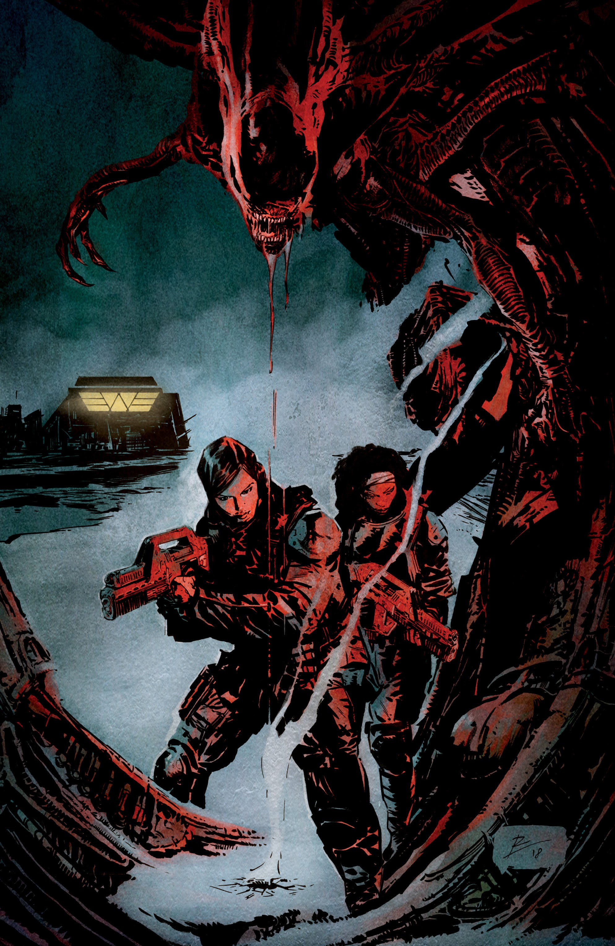 Read online Aliens: Resistance comic -  Issue # _TPB - 6