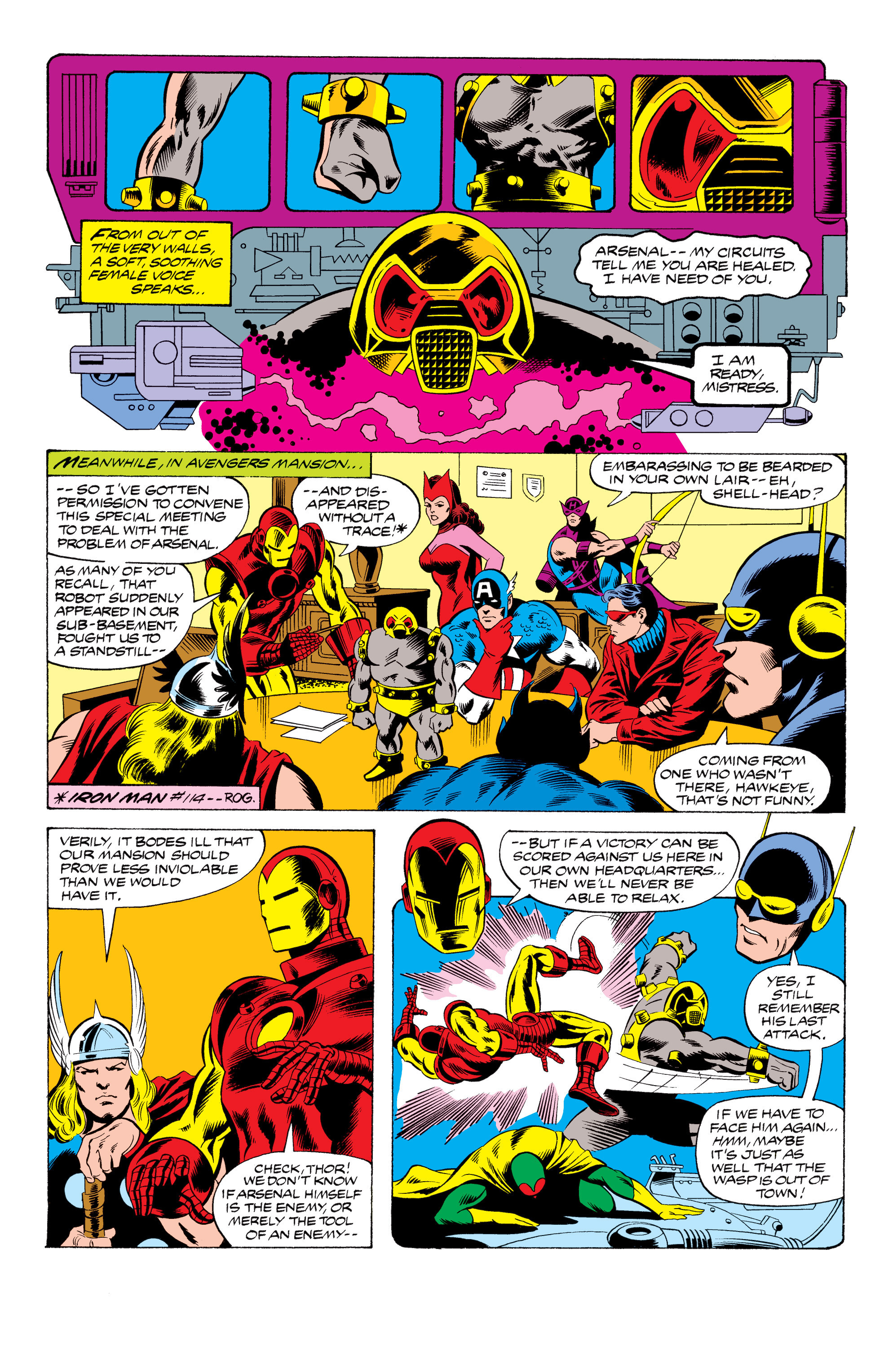 The Avengers (1963) _Annual_9 Page 2