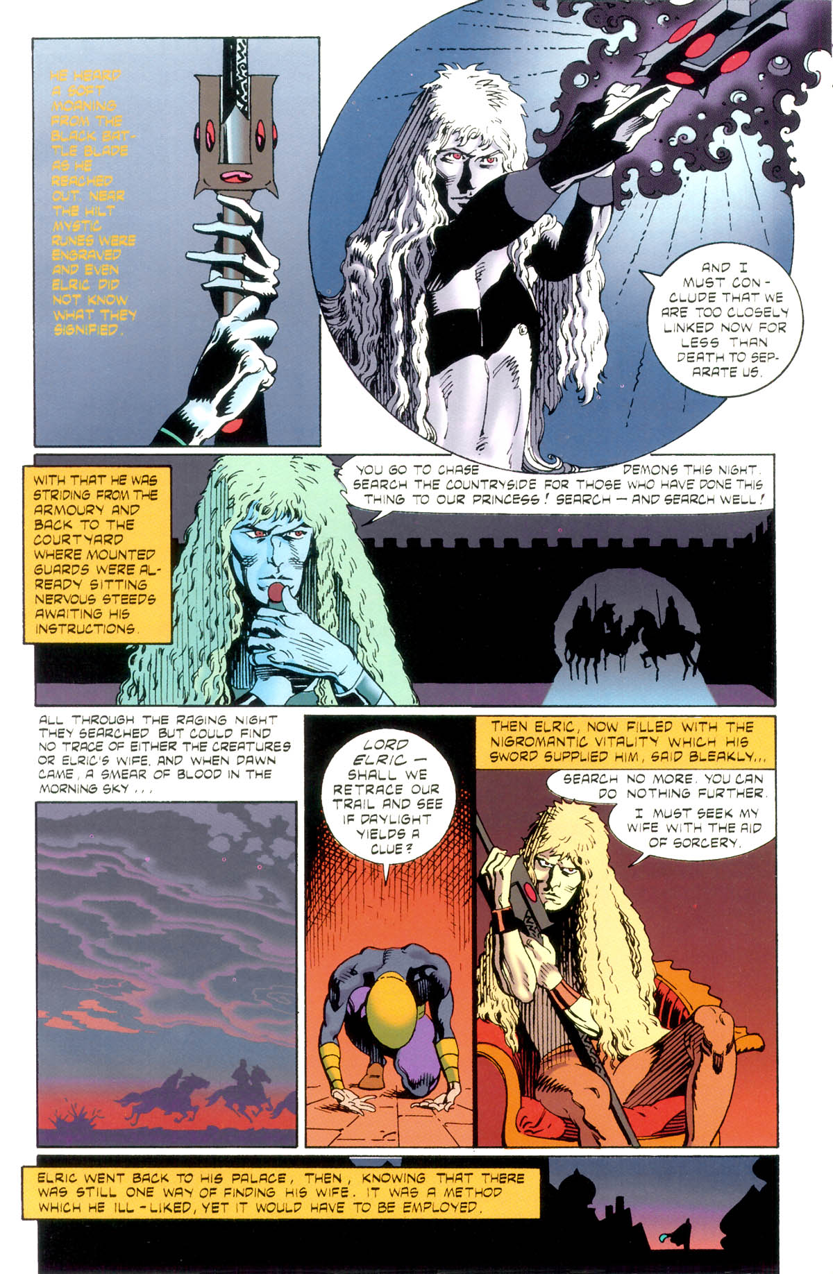 Read online Elric: Stormbringer comic -  Issue #1 - 11