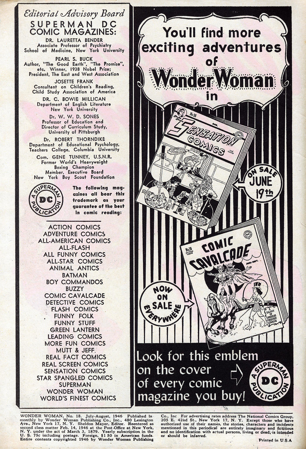 Read online Wonder Woman (1942) comic -  Issue #18 - 2