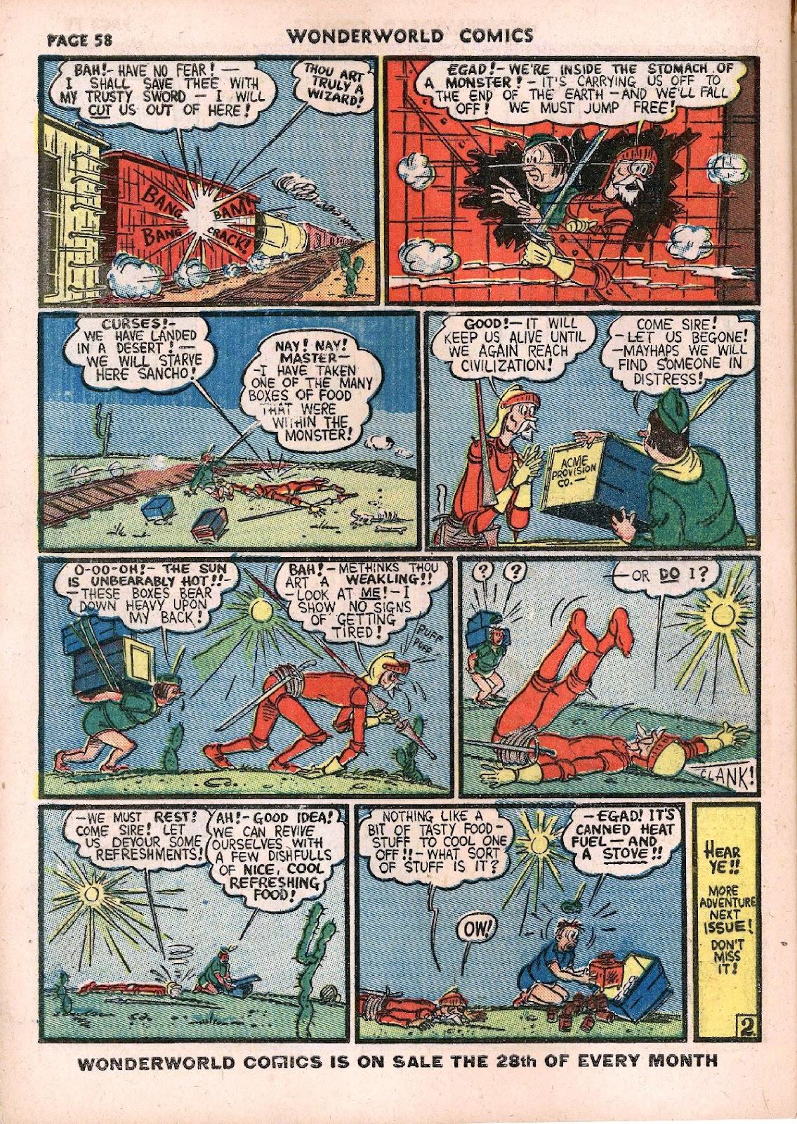 Wonderworld Comics issue 14 - Page 60