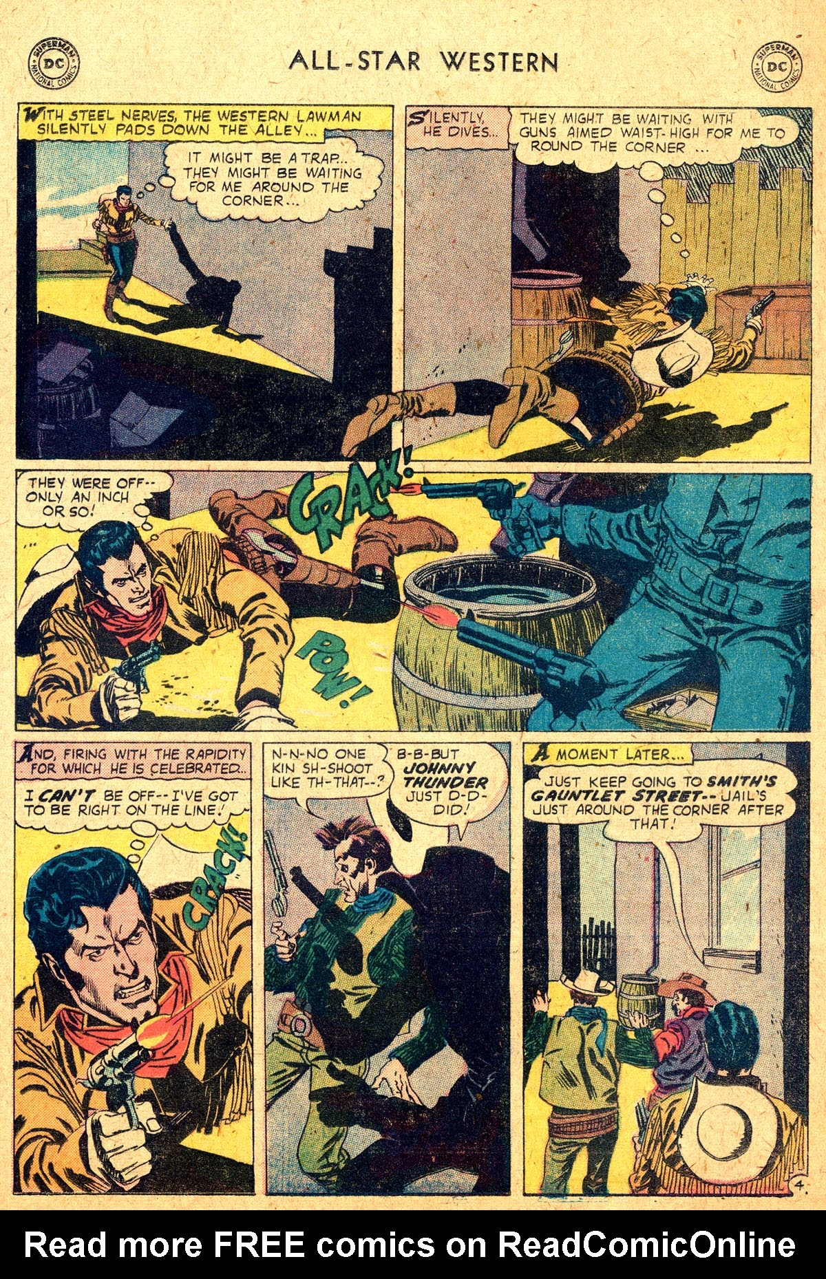 Read online All-Star Western (1951) comic -  Issue #104 - 28