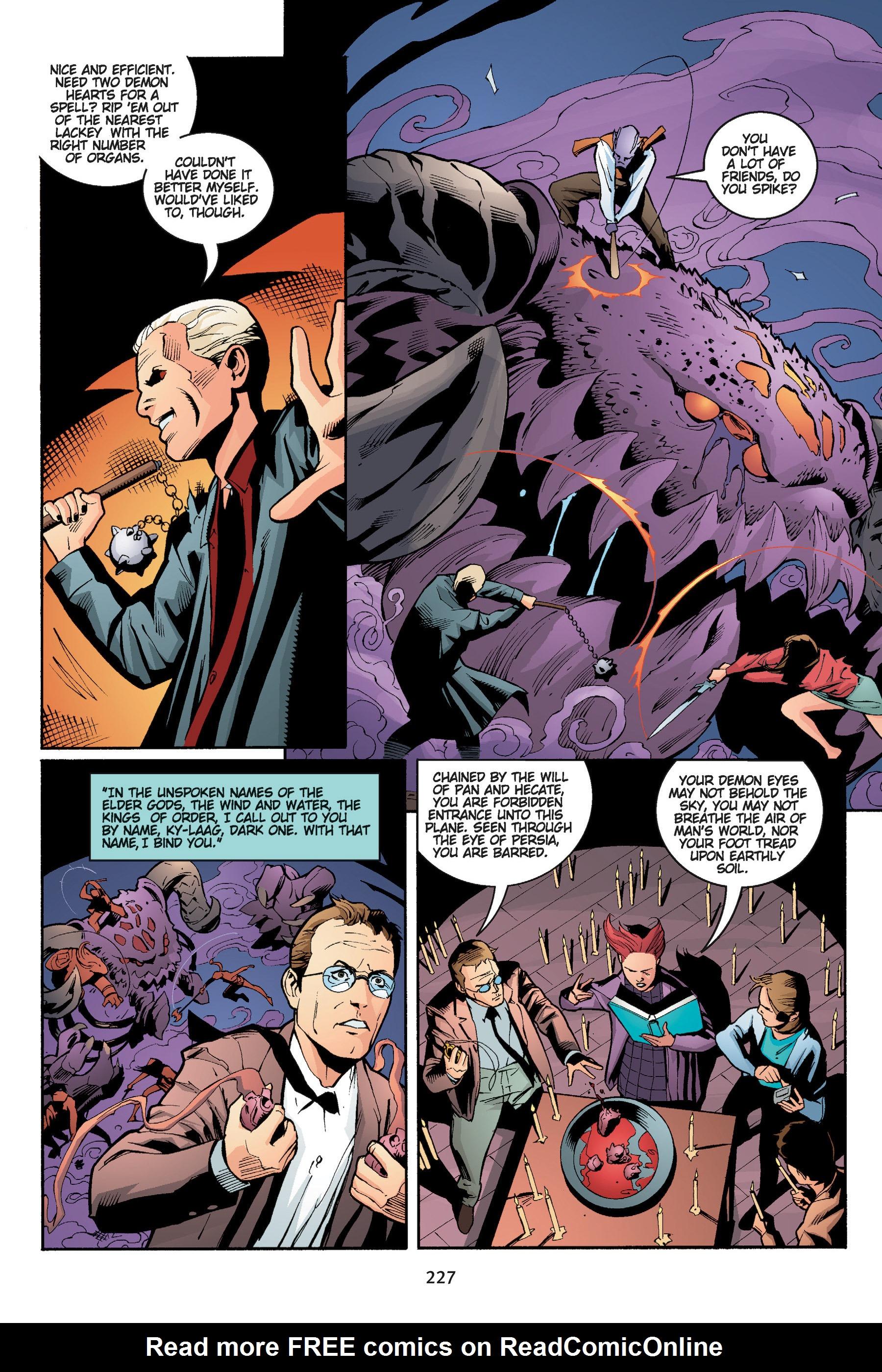 Read online Buffy the Vampire Slayer: Omnibus comic -  Issue # TPB 5 - 227