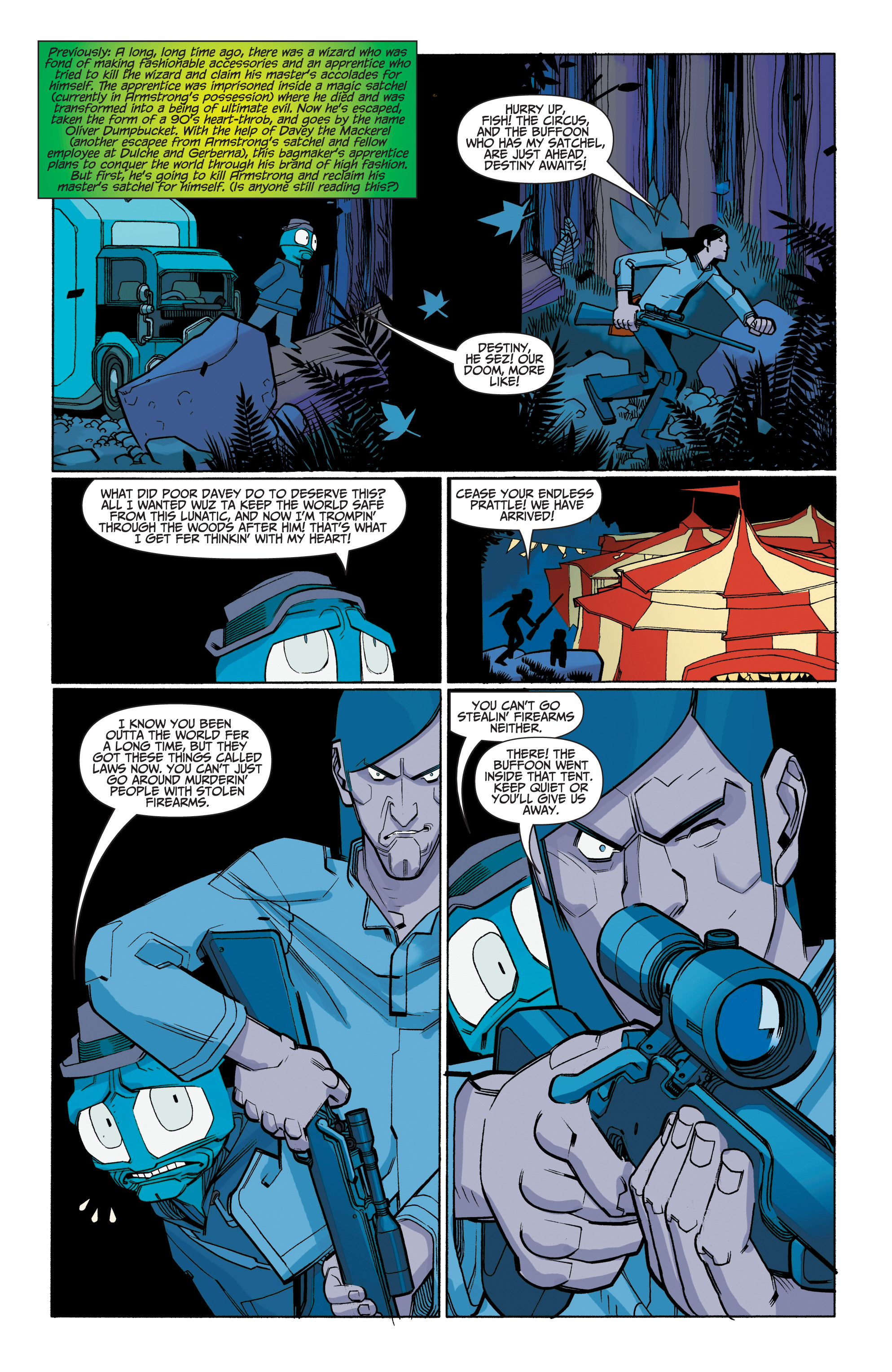 Read online A&A: The Adventures of Archer & Armstrong comic -  Issue #8 - 22