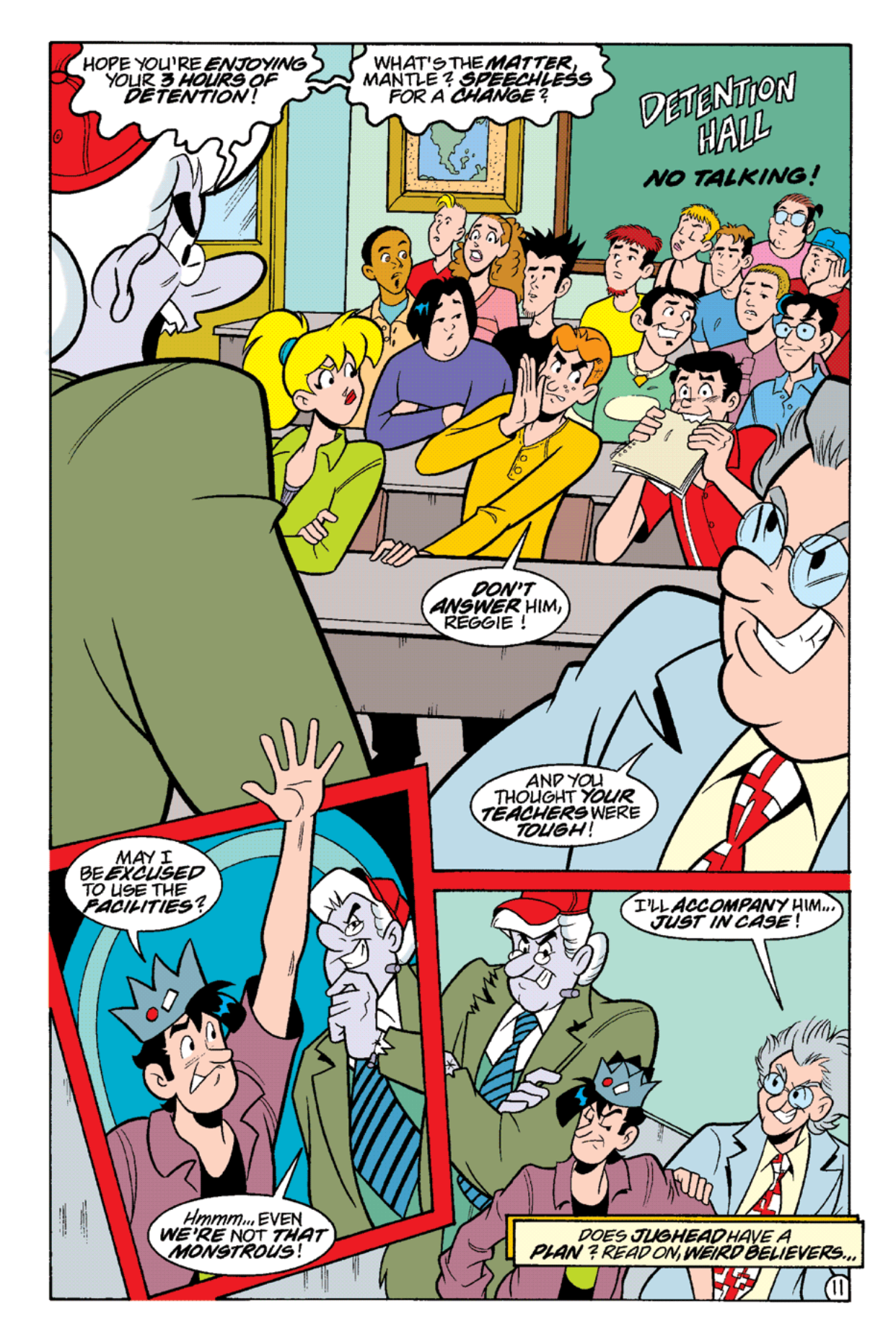 Read online Archie's Weird Mysteries comic -  Issue #16 - 13